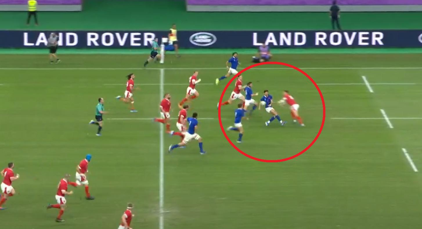 Rugby - Coupe du monde 2019 - Tous les essais d'un pays de Galles-France de feu en vidéo