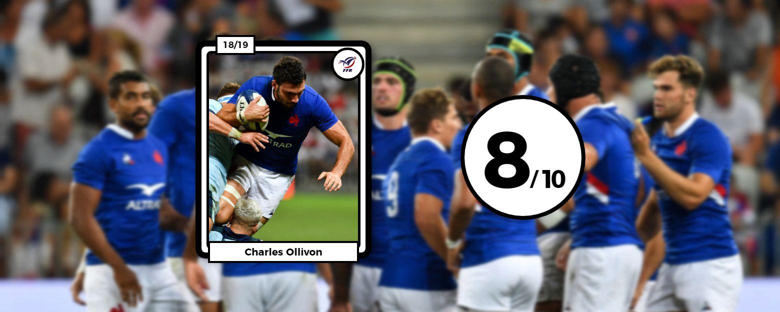 Rugby - Coupe du monde 2019 - Les notes des Bleus : Ollivon, Alldritt, Cros, triplette majeure