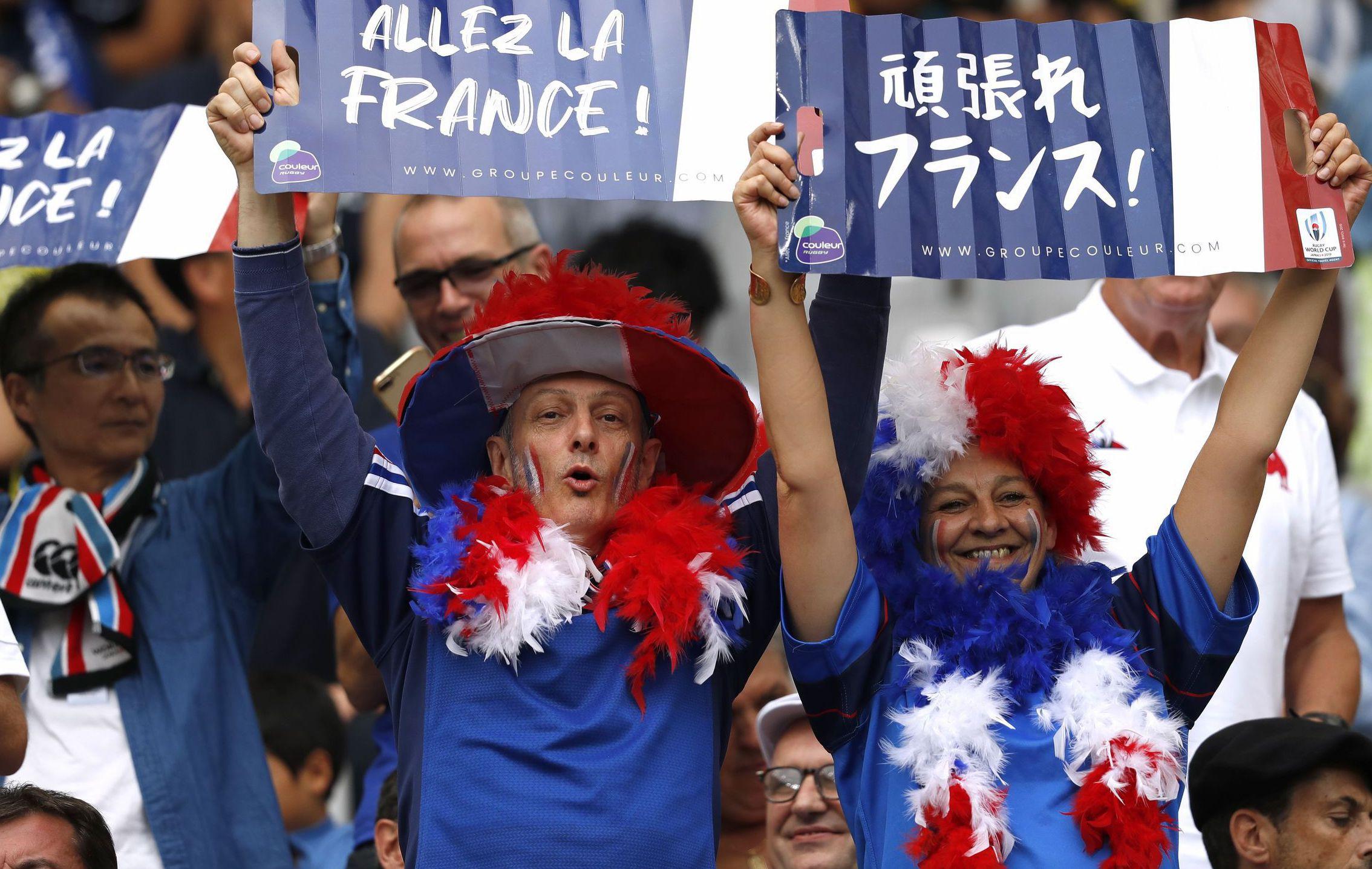 Rugby - Coupe du monde 2019 - Les plus belles images de France-Argentine