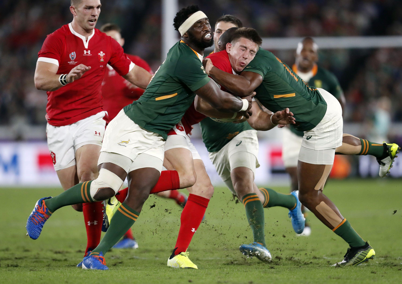 Rugby - Coupe du monde 2019 - Les Springboks attendent de pied ferme les Anglais