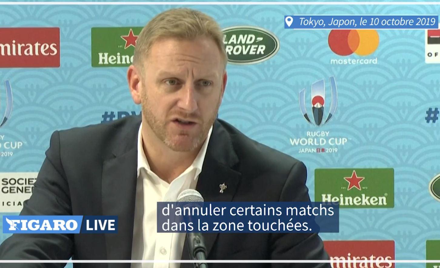 Rugby - Coupe du monde 2019 - Mondial de rugby : le match Angleterre-France annulé en raison d'un typhon