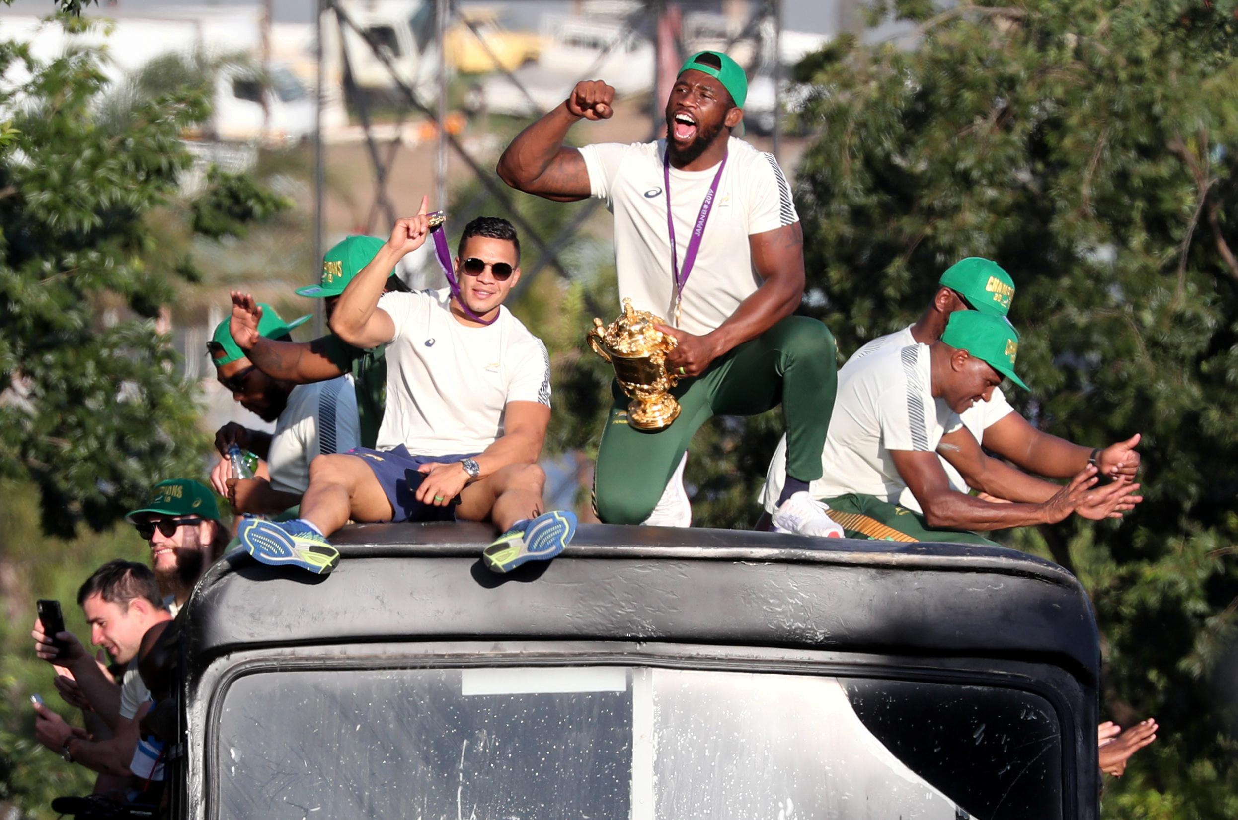 Rugby - Coupe du monde 2019 - Siya Kolisi, symbole éclatant de la nation arc-en-ciel