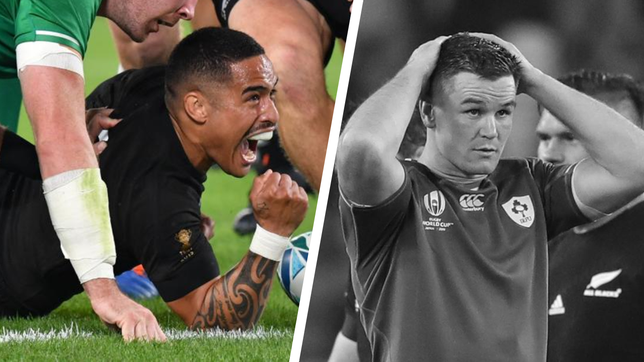 Rugby - Coupe du monde 2019 - Tops/Flops Nouvelle-Zélande-Irlande : Smith rayonne, Sexton cataclysmique