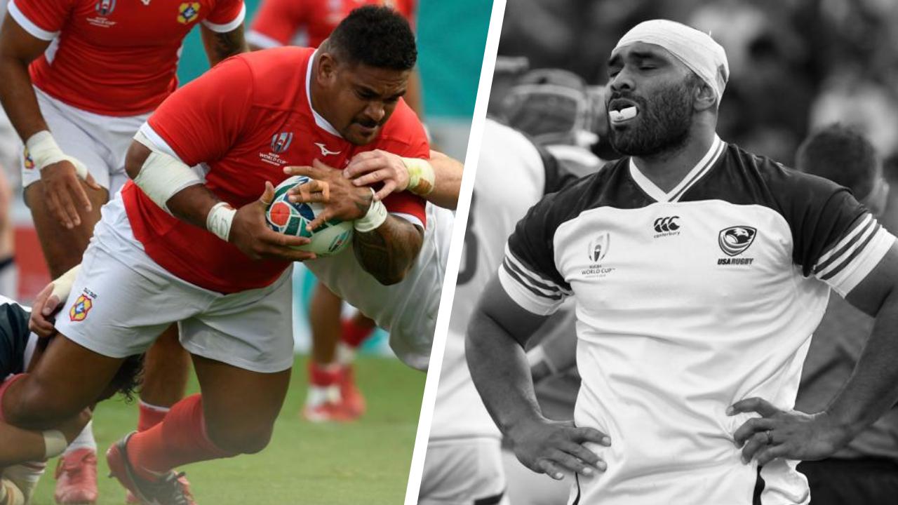 Rugby - Coupe du monde 2019 - Tops/Flops Tonga-Etats-Unis : Fisi'ihoi porte les Tongiens, Lasike transparent