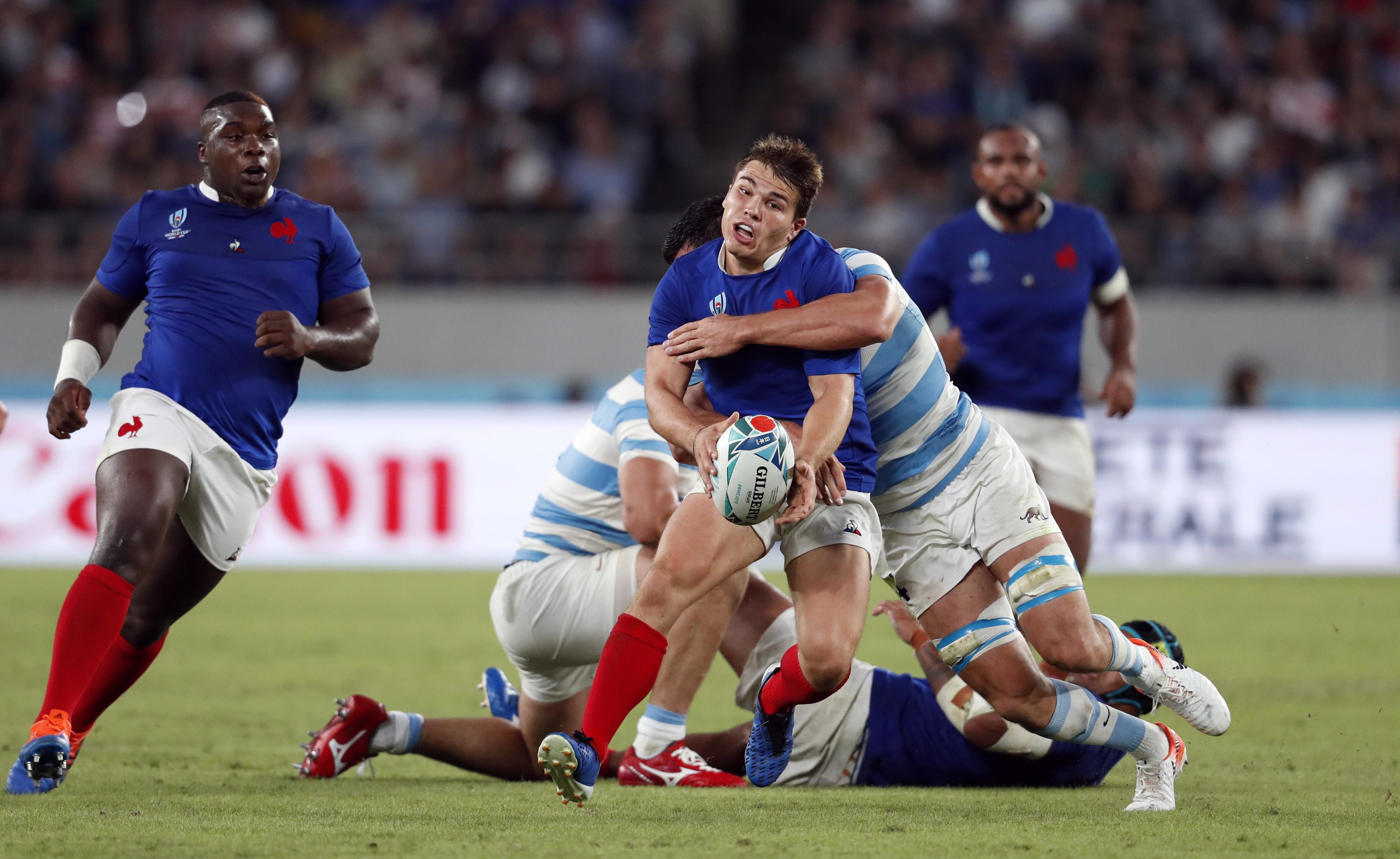 Rugby - Coupe du monde 2019 - XV de France : Antoine Dupont sur la voie de la guérison