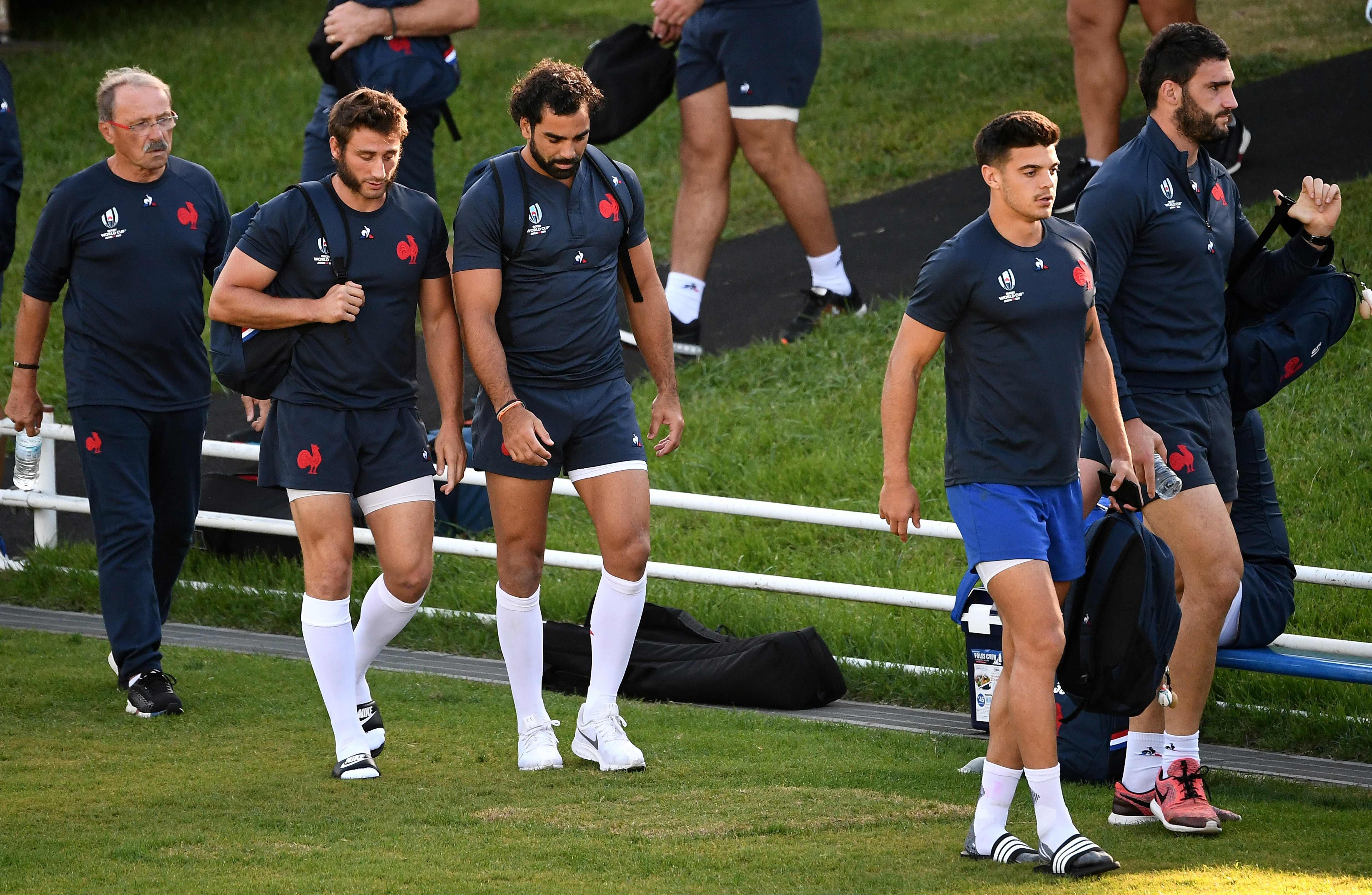 Rugby - Coupe du monde 2019 - XV de France : quatre Bleus ménagés, Barrassi attendu