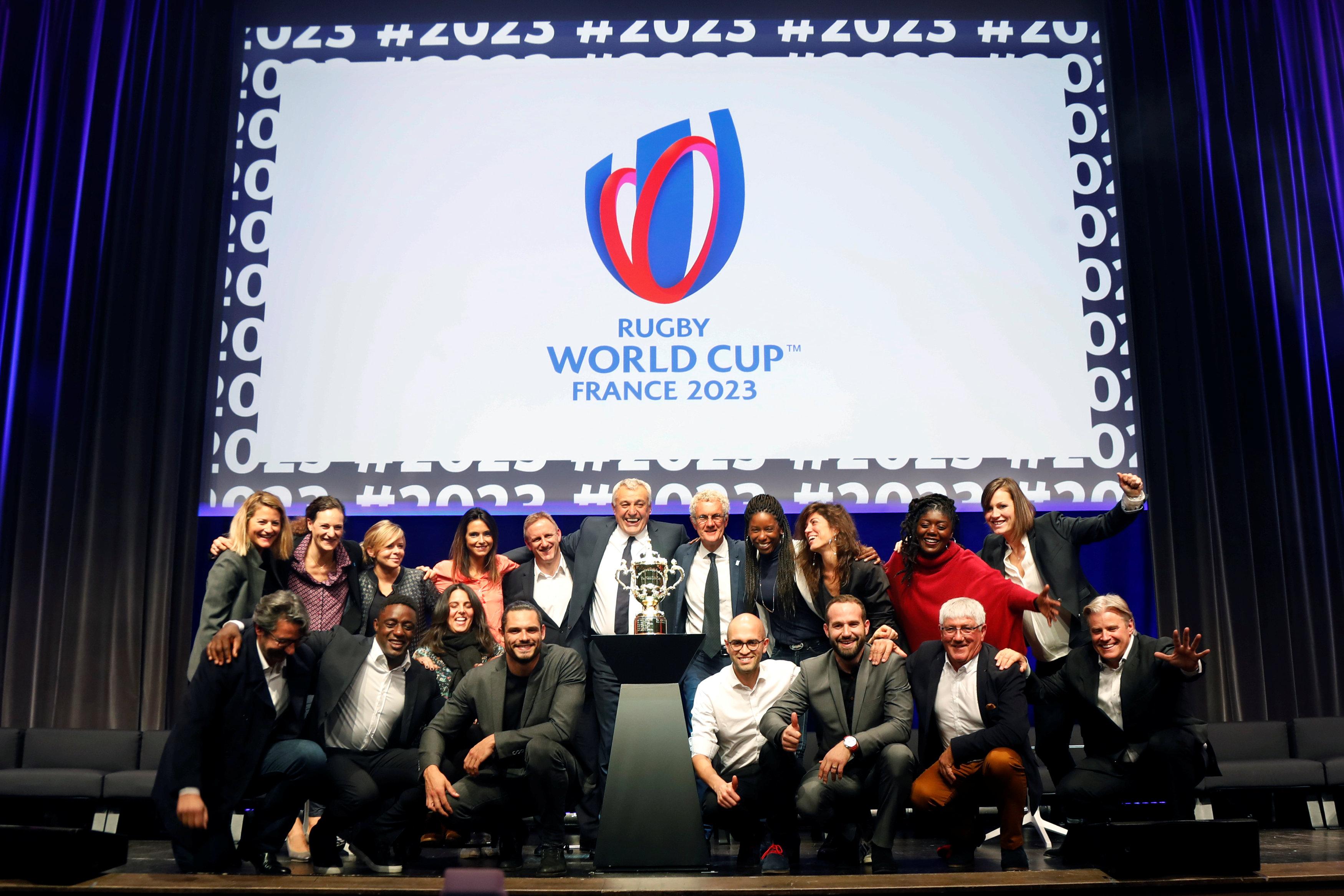 rugby france 2023 d voile son logo coupe du monde 2023. Black Bedroom Furniture Sets. Home Design Ideas