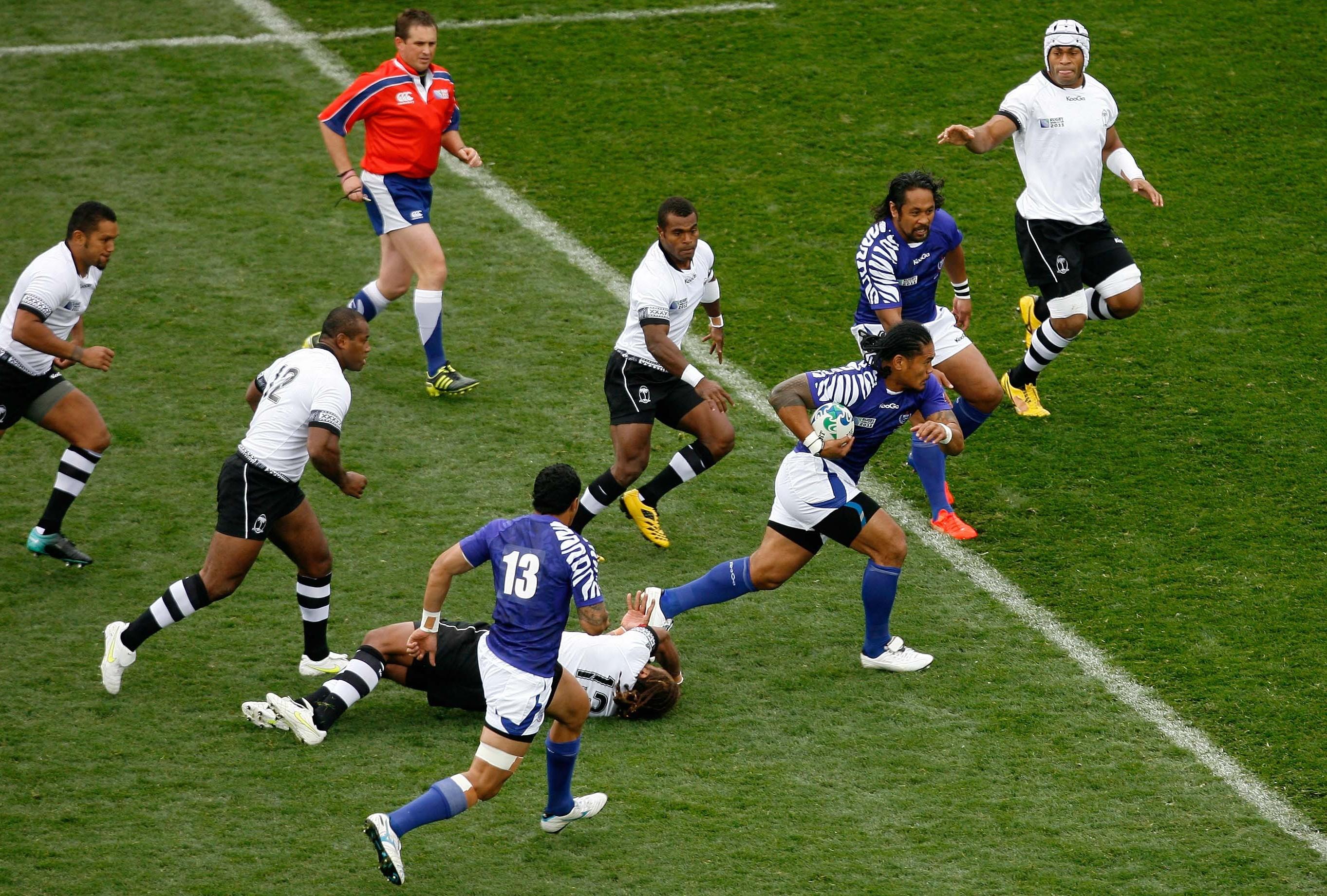Le samoa fournisseur officiel de talents coupe du monde 2011 rugby - Resultats rugby coupe du monde ...