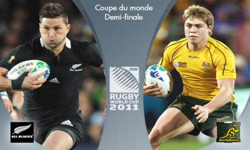 Peur noire sur la Nouvelle-Zélande  - Coupe du monde 2011 - Rugby -