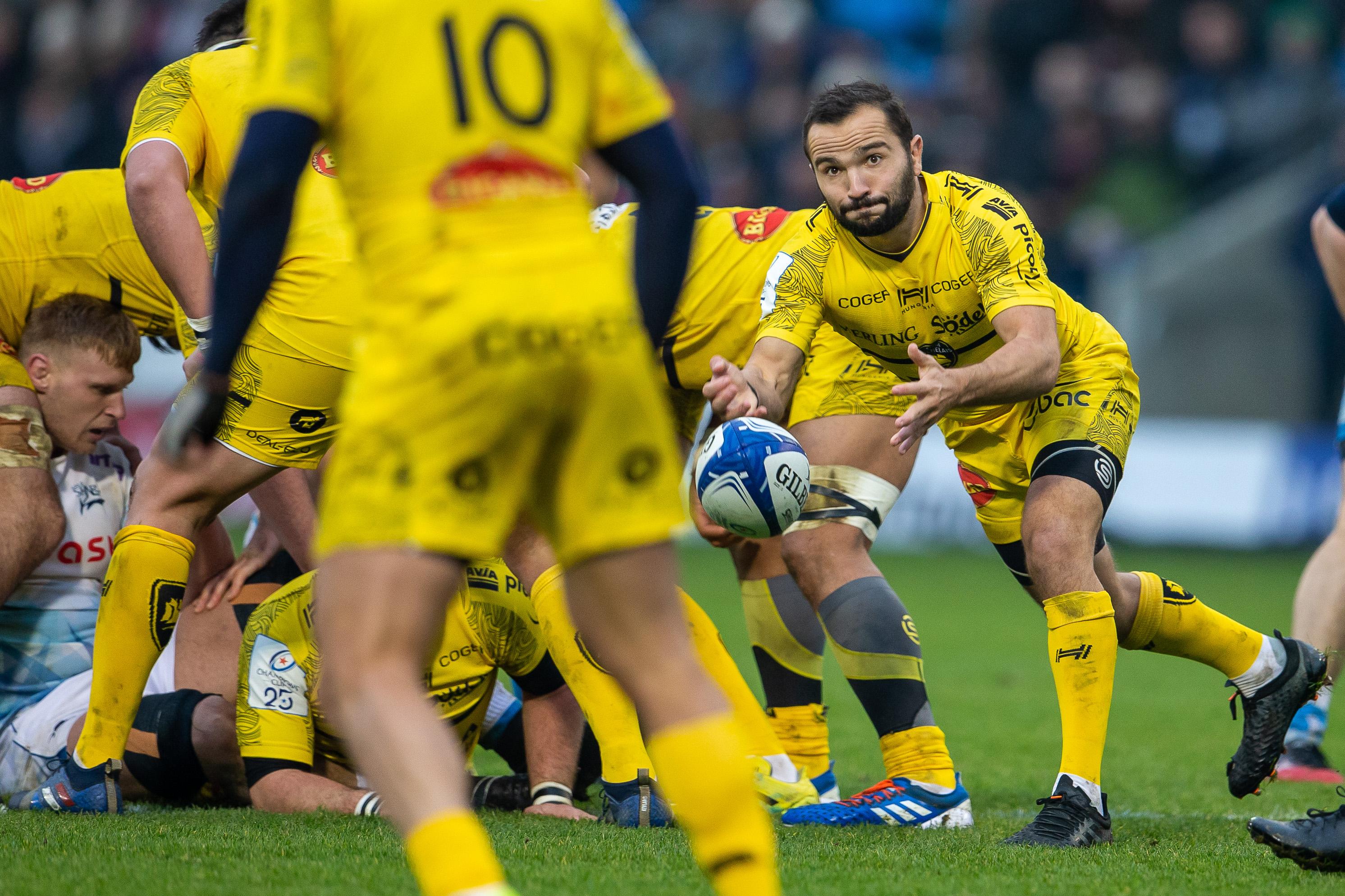 Rugby - Coupes d'Europe - Champions Cup : Glasgow-La Rochelle en direct