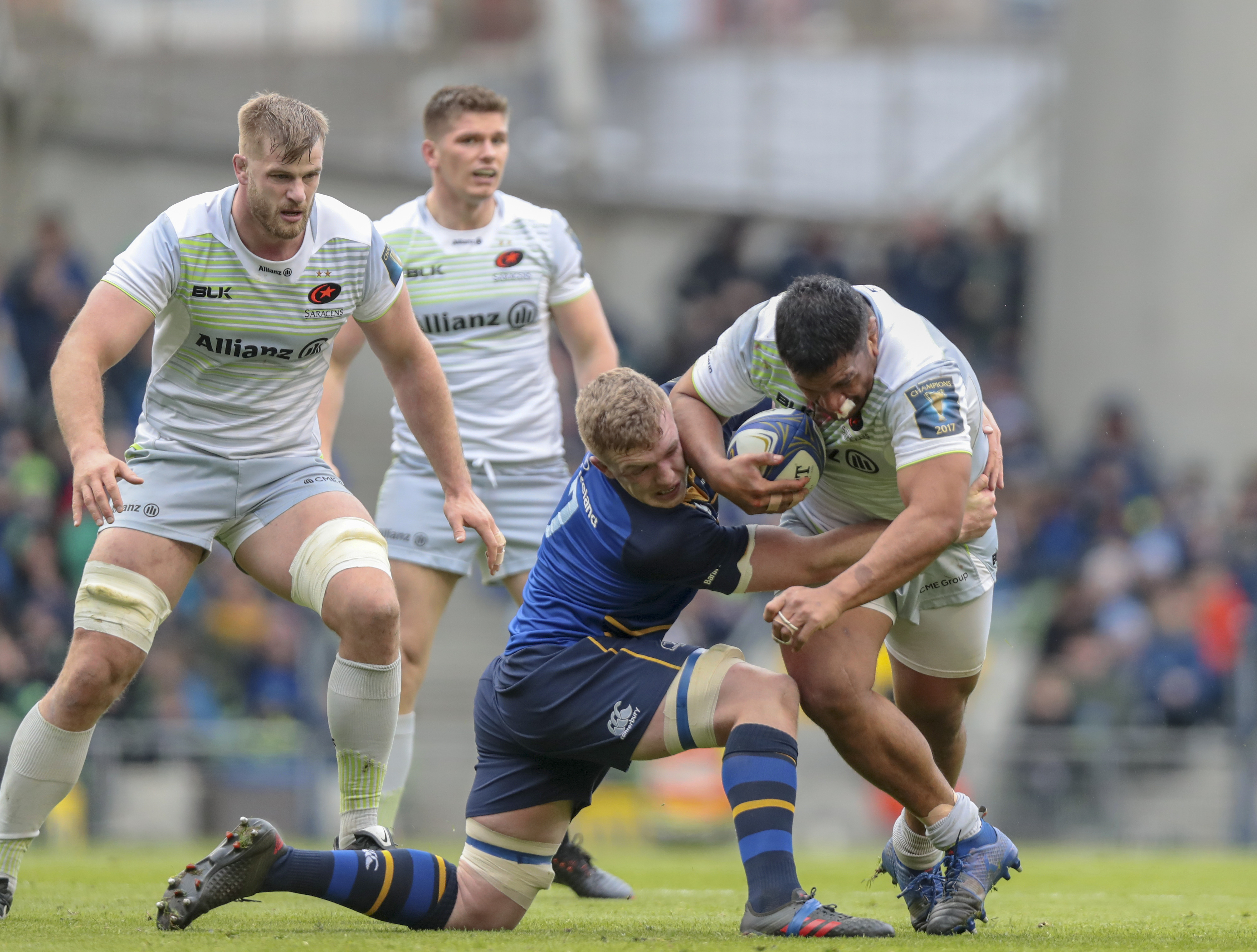 Rugby - Coupes d'Europe - Champions Cup : Saracens-Leinster, l'affiche ultime