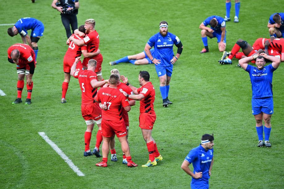 Rugby - Coupes d'Europe - En vidéo, le résumé de la tonitruante finale Saracens-Leinster
