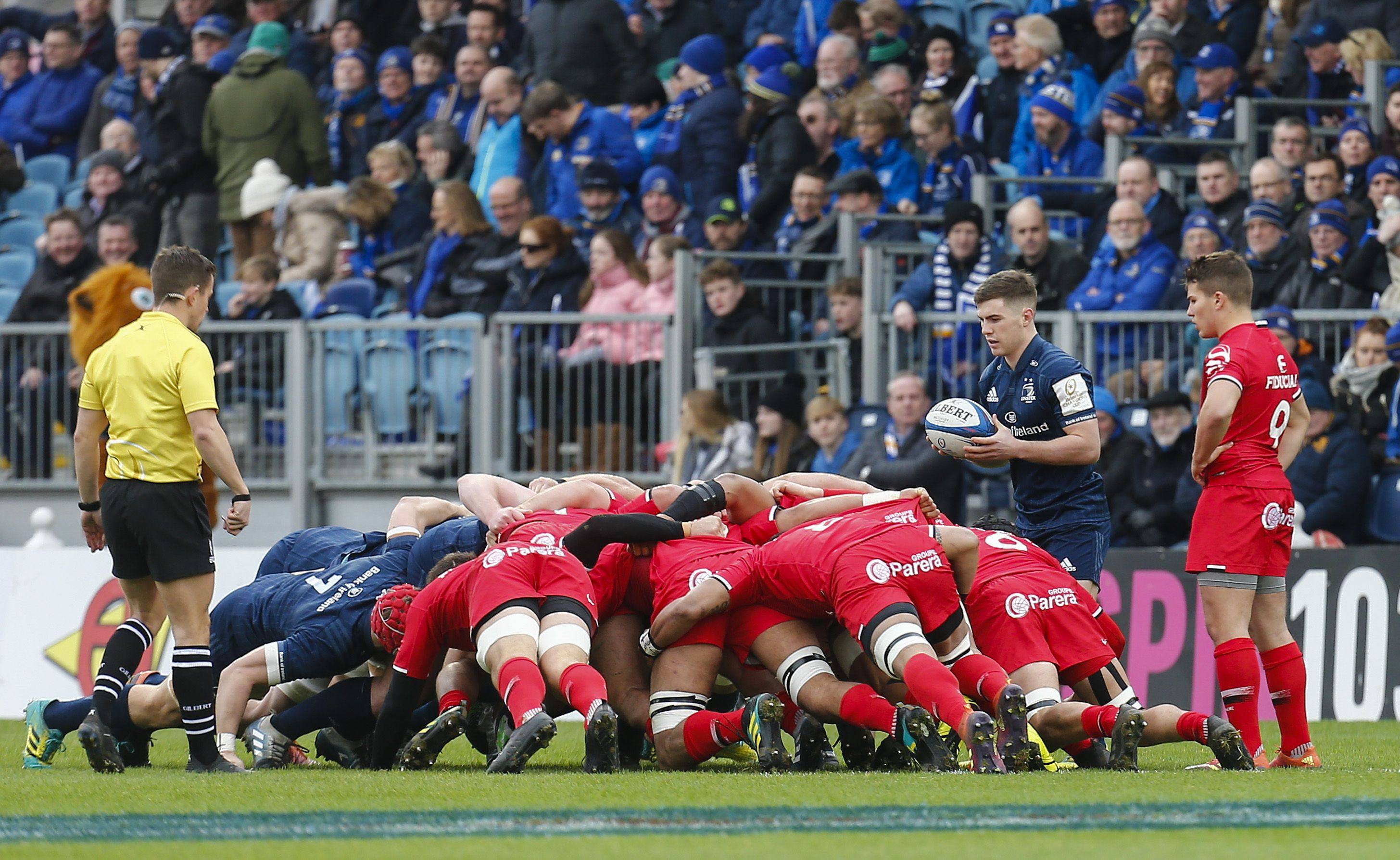 Rugby - Coupes d'Europe - Hart : «Le Leinster va essayer d'enfermer Toulouse»