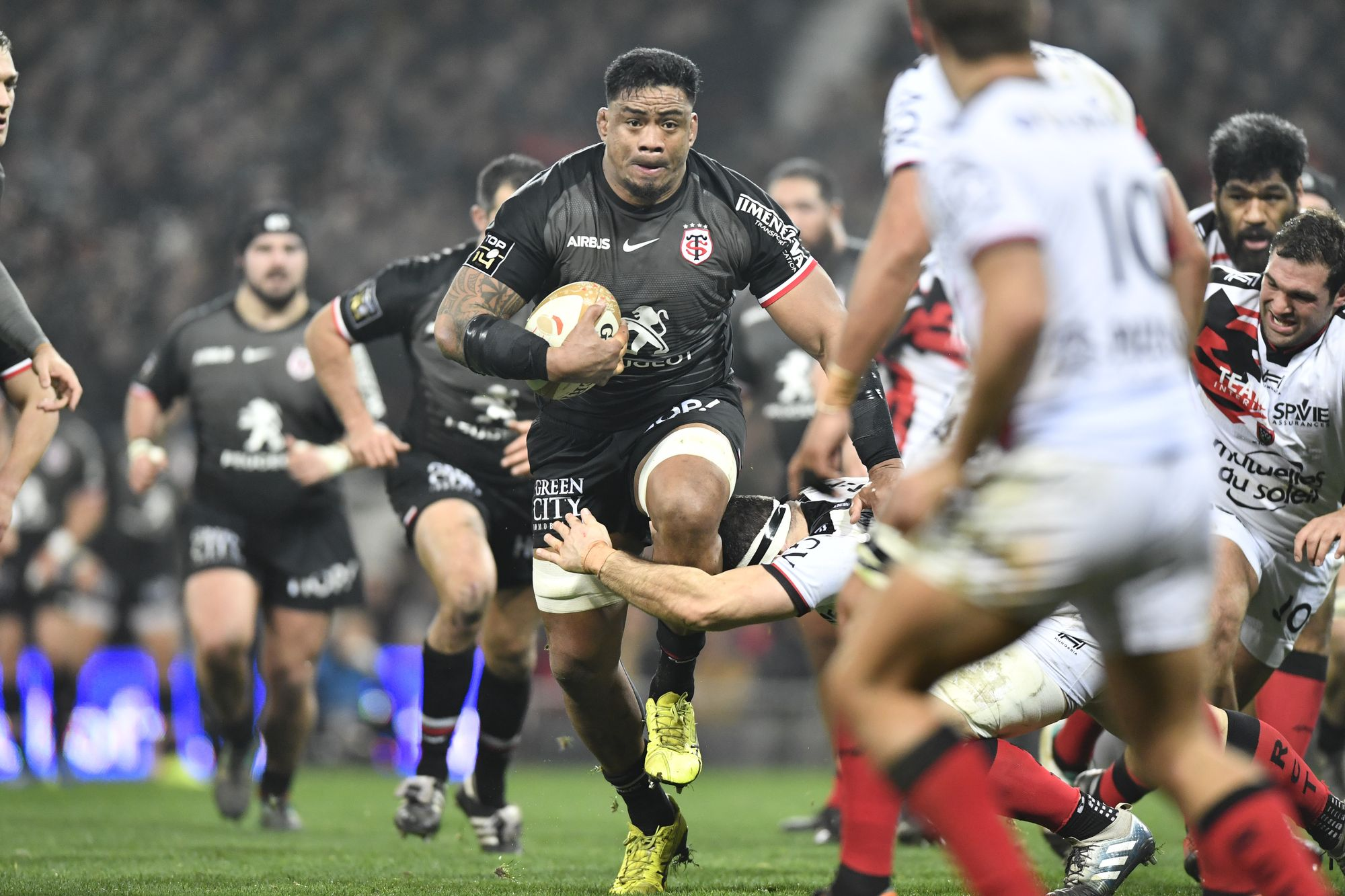 Rugby - Coupes d'Europe - Stade Toulousain : l'indispensable Joe Tekori