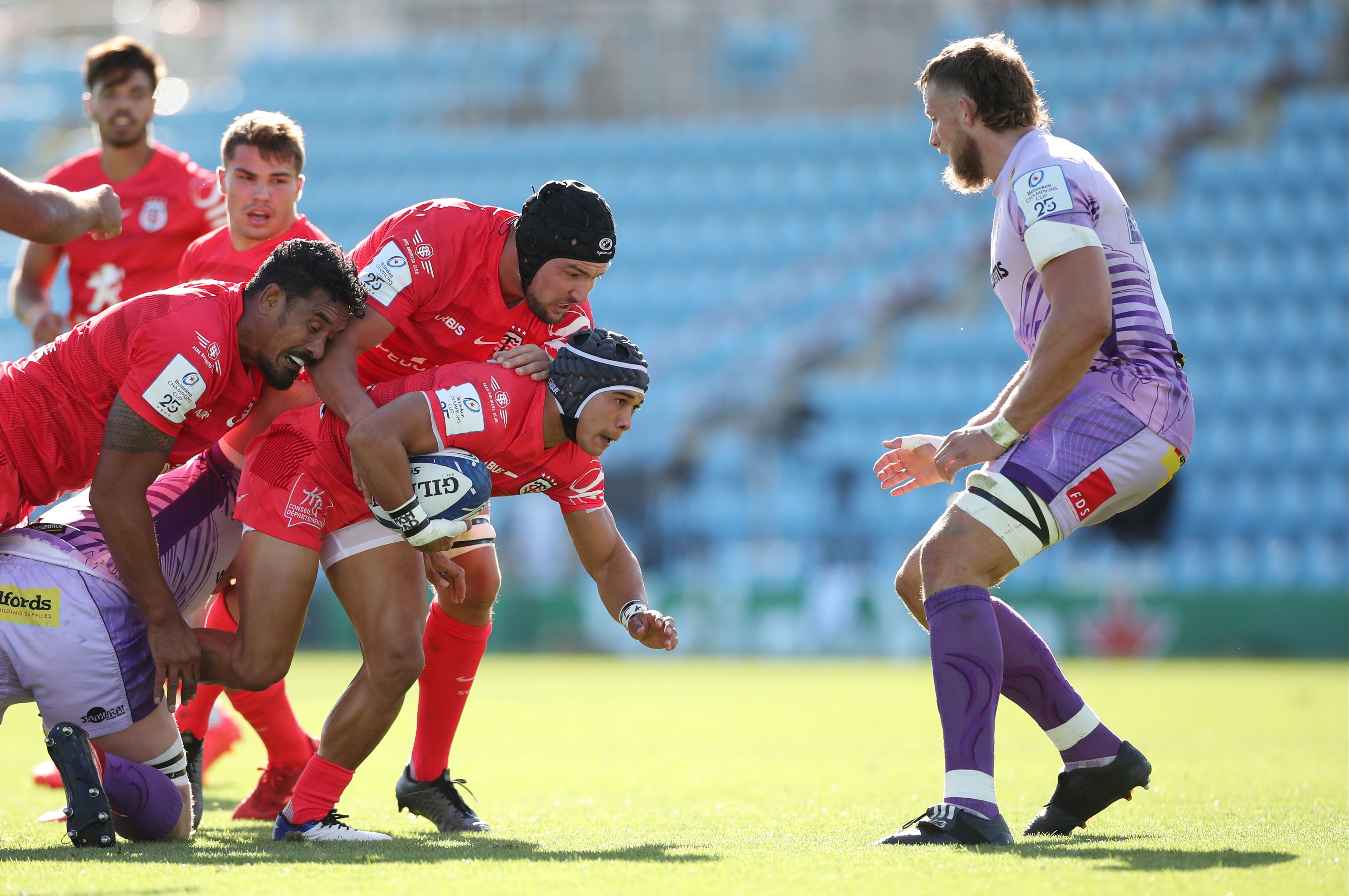 Rugby - Coupes d'Europe - Tops/Flops Exeter-Toulouse : première historique pour les Chiefs, le Stade a perdu pied
