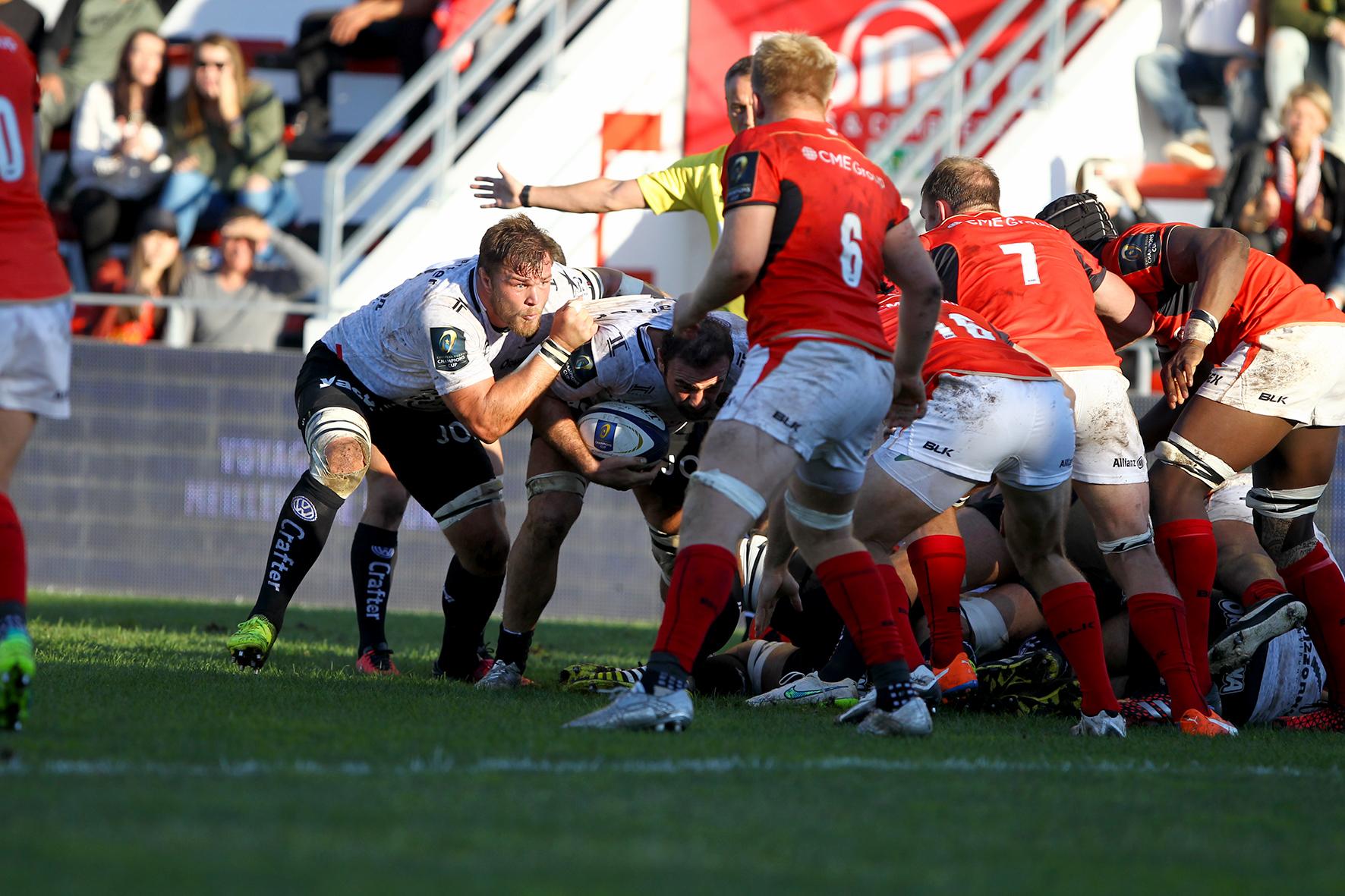 Rugby - Coupes d'Europe - Vermeulen : «C'est dur pour l'équipe»
