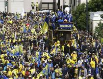 Clermont - Leinster : Supporters à Bordeaux