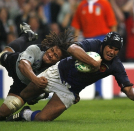 Dusautoir All Blacks 2007