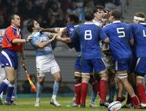France-Argentine altercation