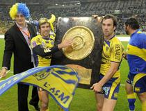 Perpignan - Clermont : Morgan Parra Brock James