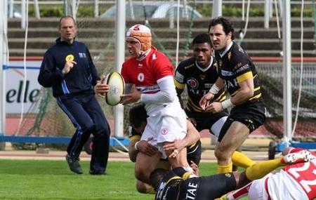 Rugby - Pro D2 - Pro D2 : Biarritz souffre, Perpignan souffle