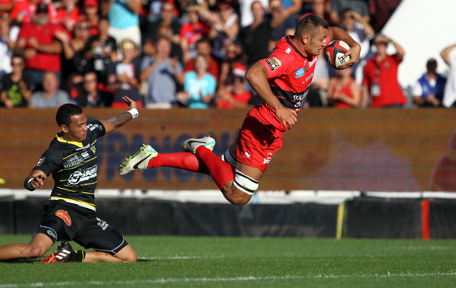 Rugby - Top 14 - Alofa, perle de La Rochelle