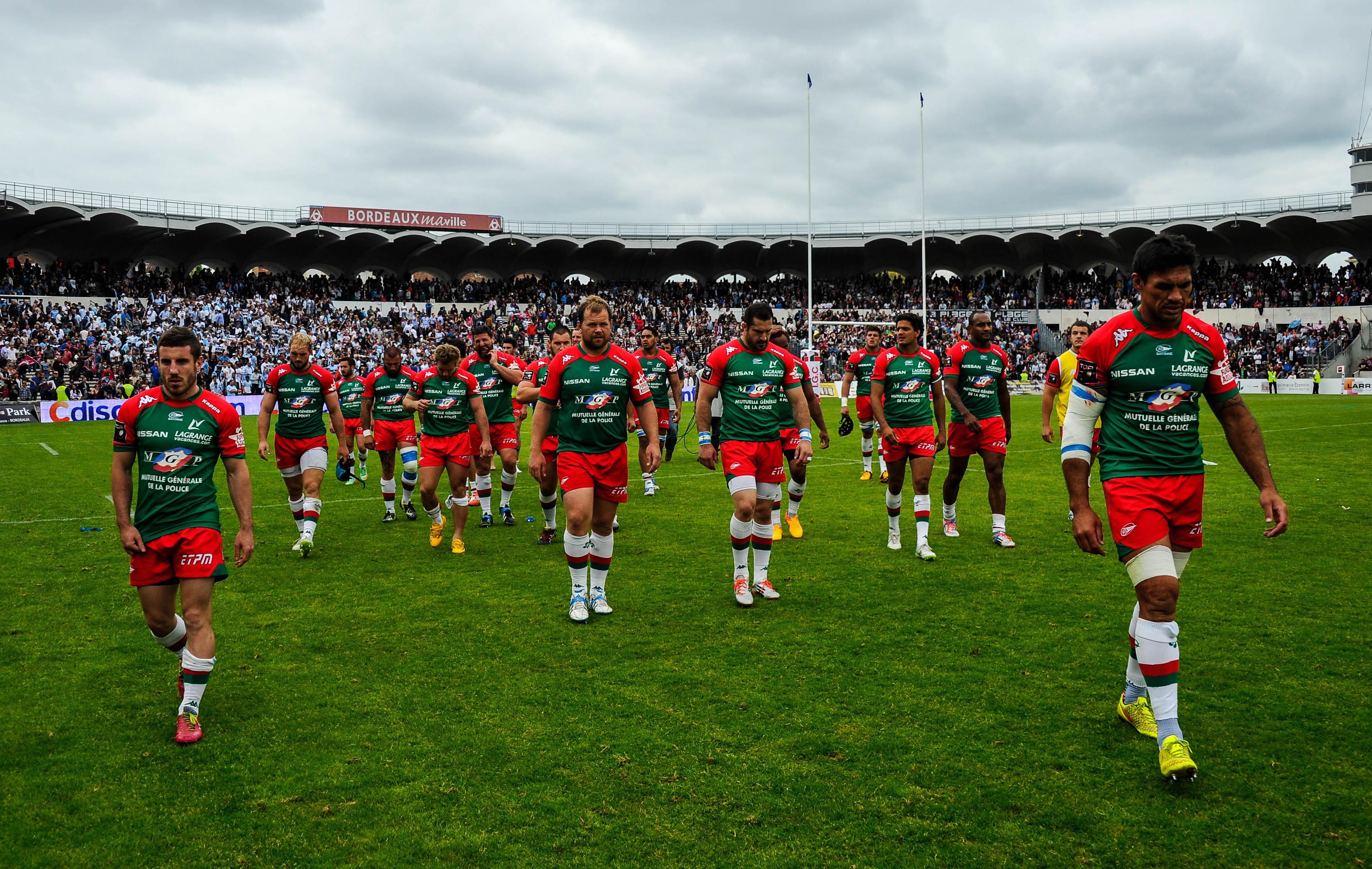 Rugby - Top 14 - Bayonne et Brive, la rage au ventre