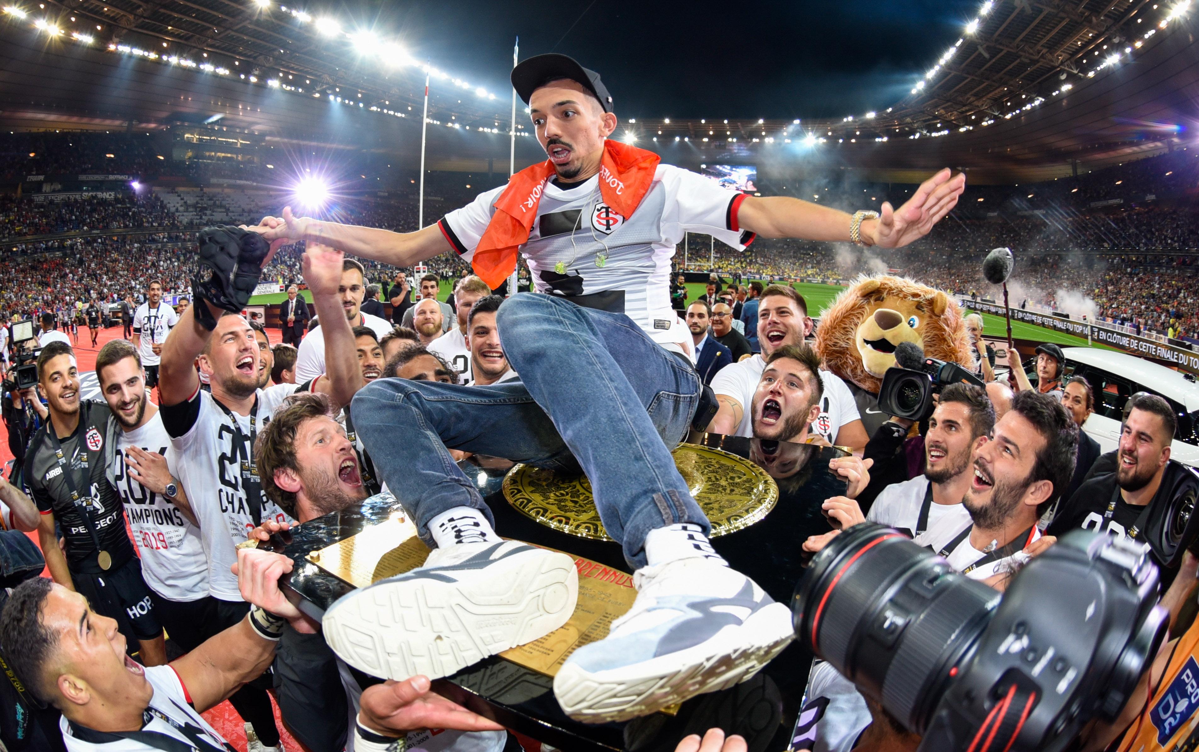 Rugby - Top 14 - Bigflo et Oli célèbrent en musique le titre de champion du Stade Toulousain