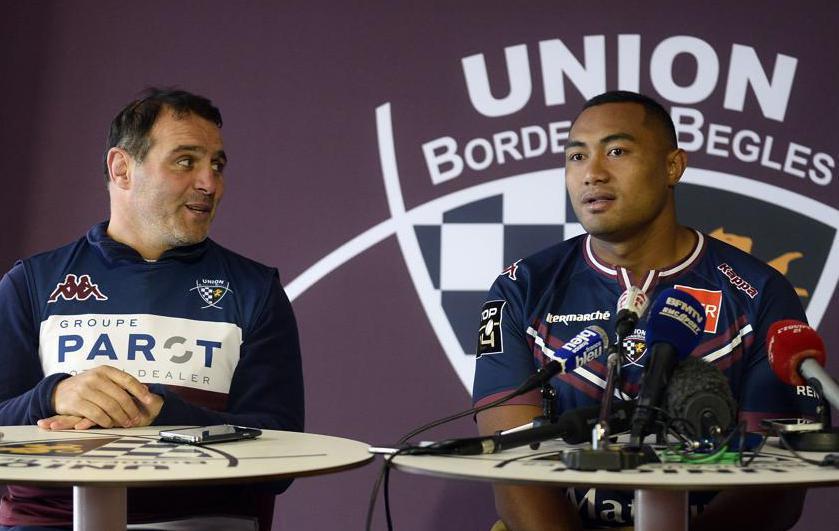Rugby - Top 14 - Bordeaux-Bègles : Kepu a hâte de se frotter aux «meilleurs piliers du monde»