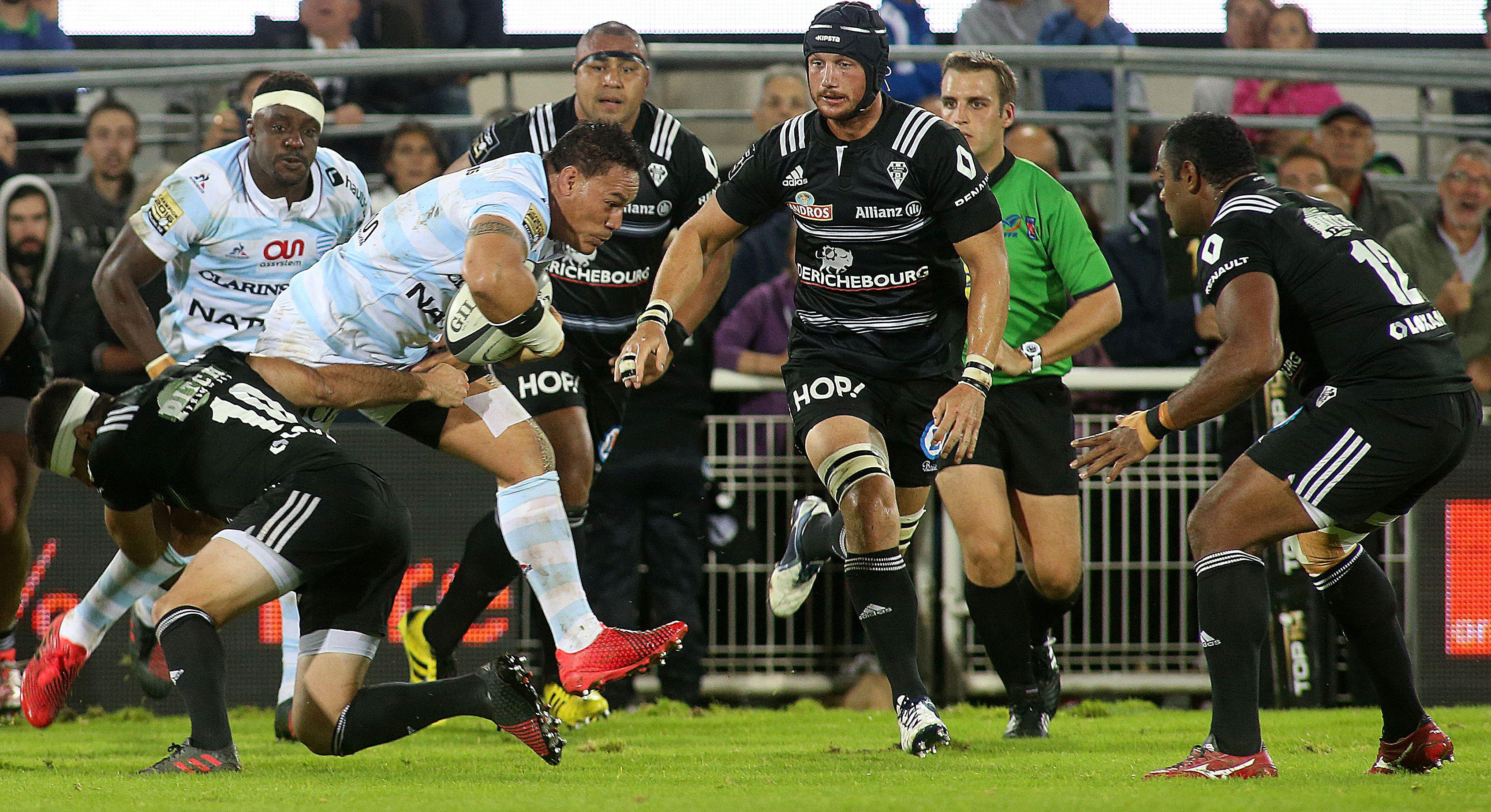 Rugby - Top 14 - Toulouse remonte, le Racing s'enlise