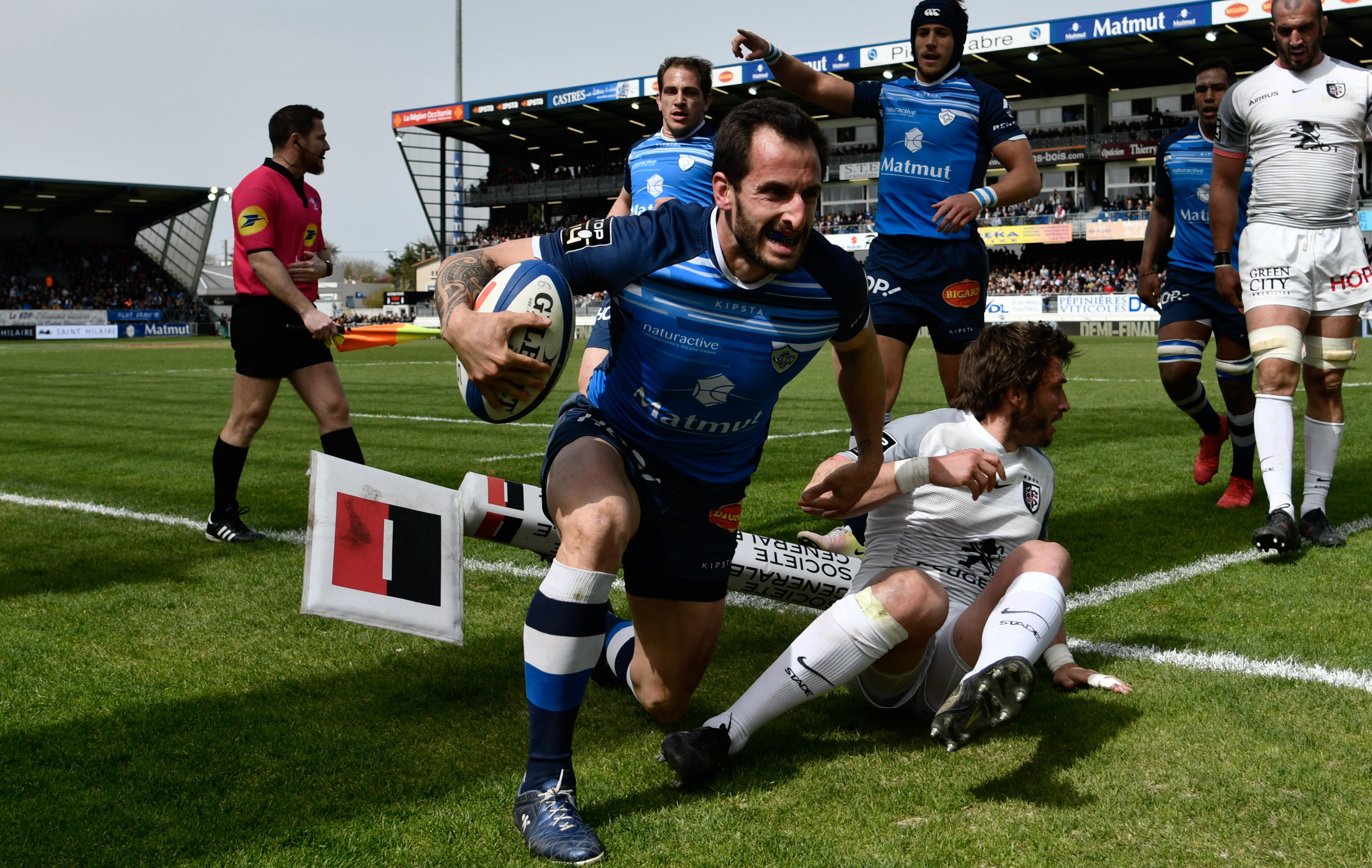 Rugby - Top 14 - Dumora, le couteau suisse de Castres