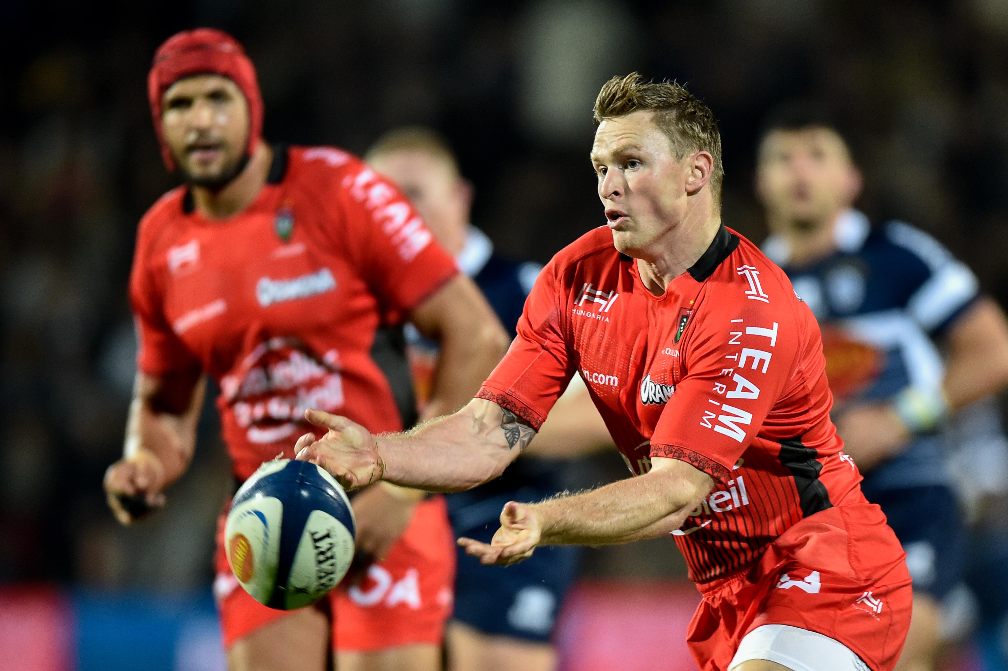 Rugby - Top 14 - Chris Ashton quitte Toulon et plonge avec les Sale Sharks