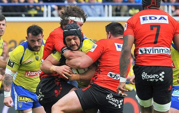 Rugby - Top 14 - Clermont au tapis, Lyon K.O.