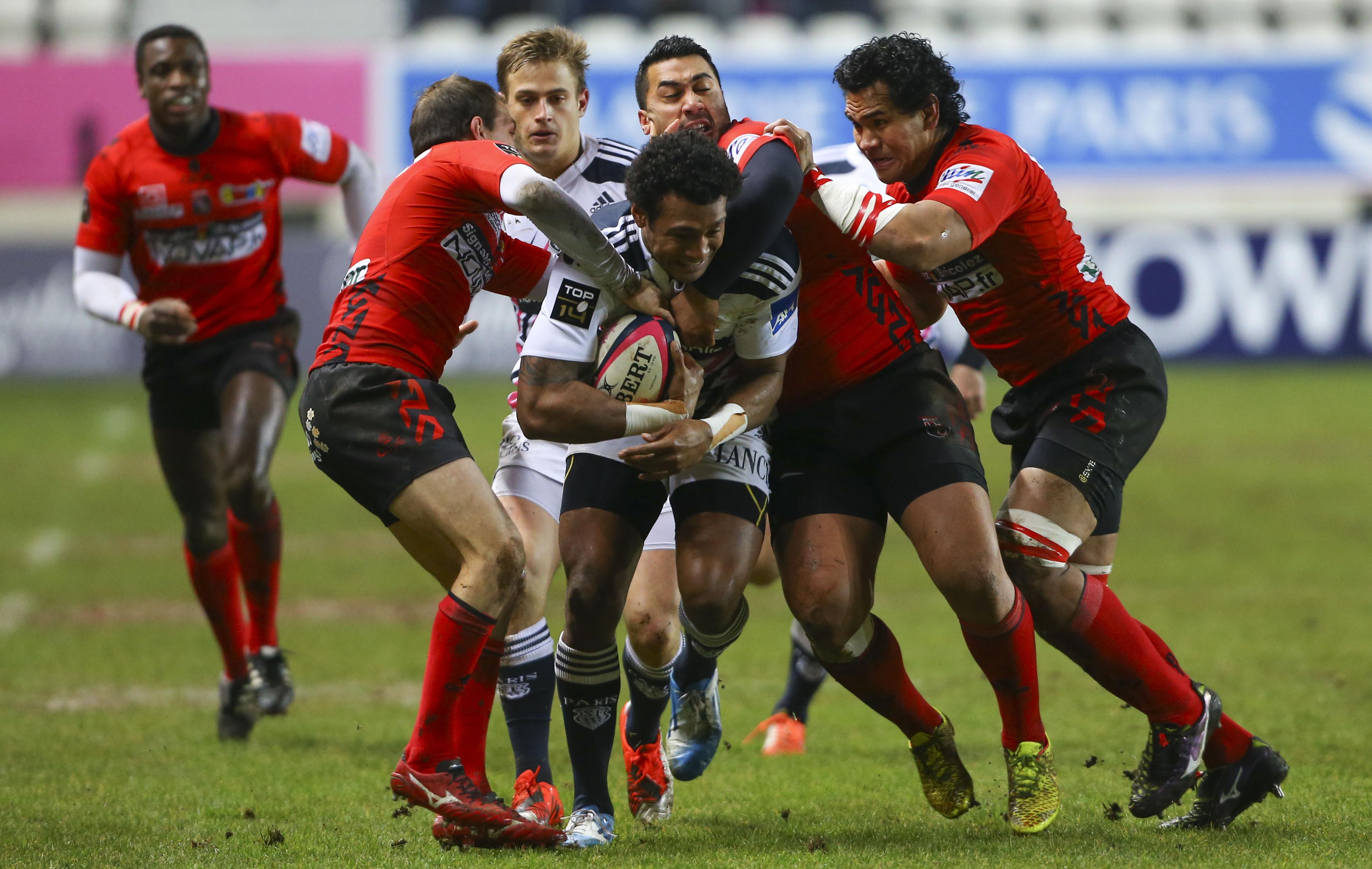 Rugby - Top 14 - Clermont et le Stade Français chutent