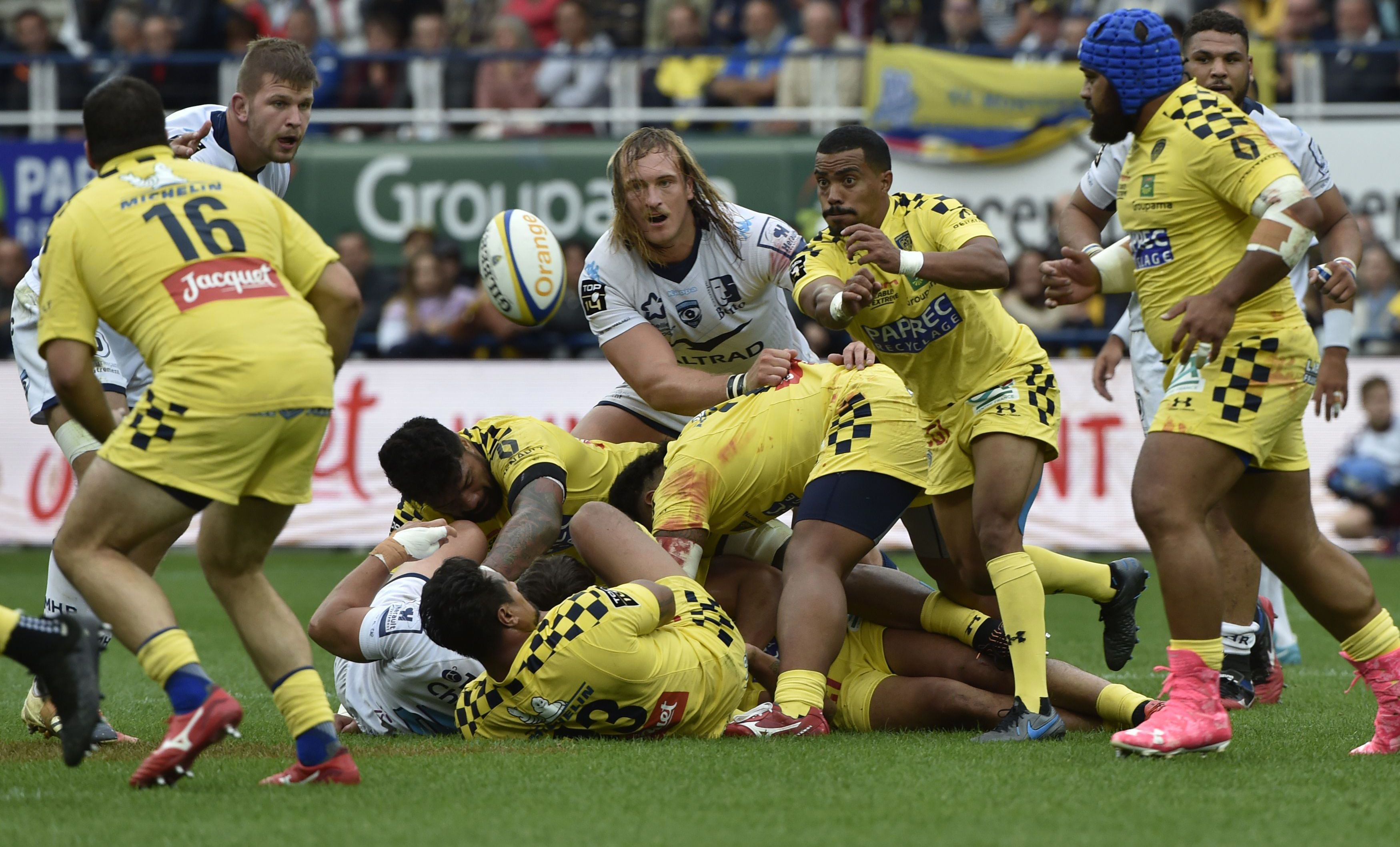 Rugby - Top 14 - Clermont passe un sérieux test à Bordeaux, en plein renouveau