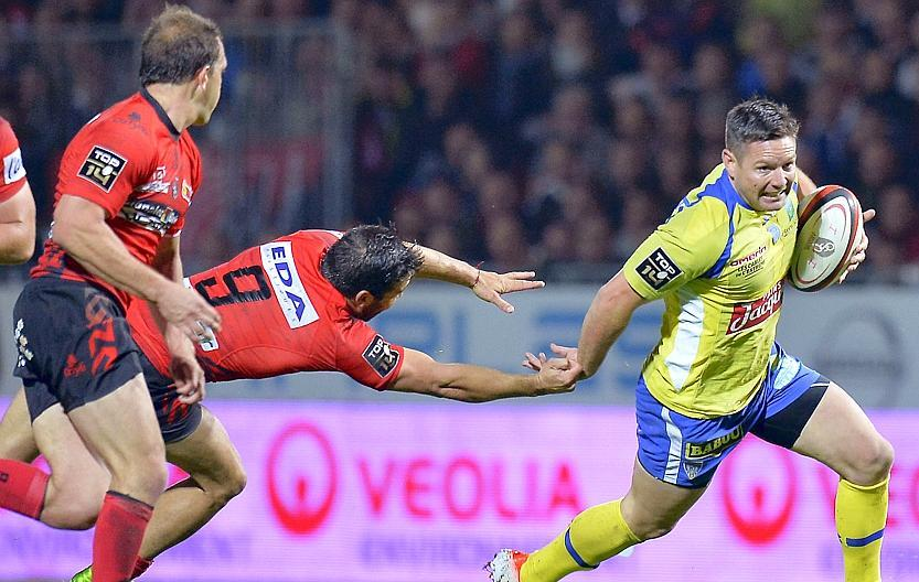 Rugby - Top 14 - Clermont solide au poste