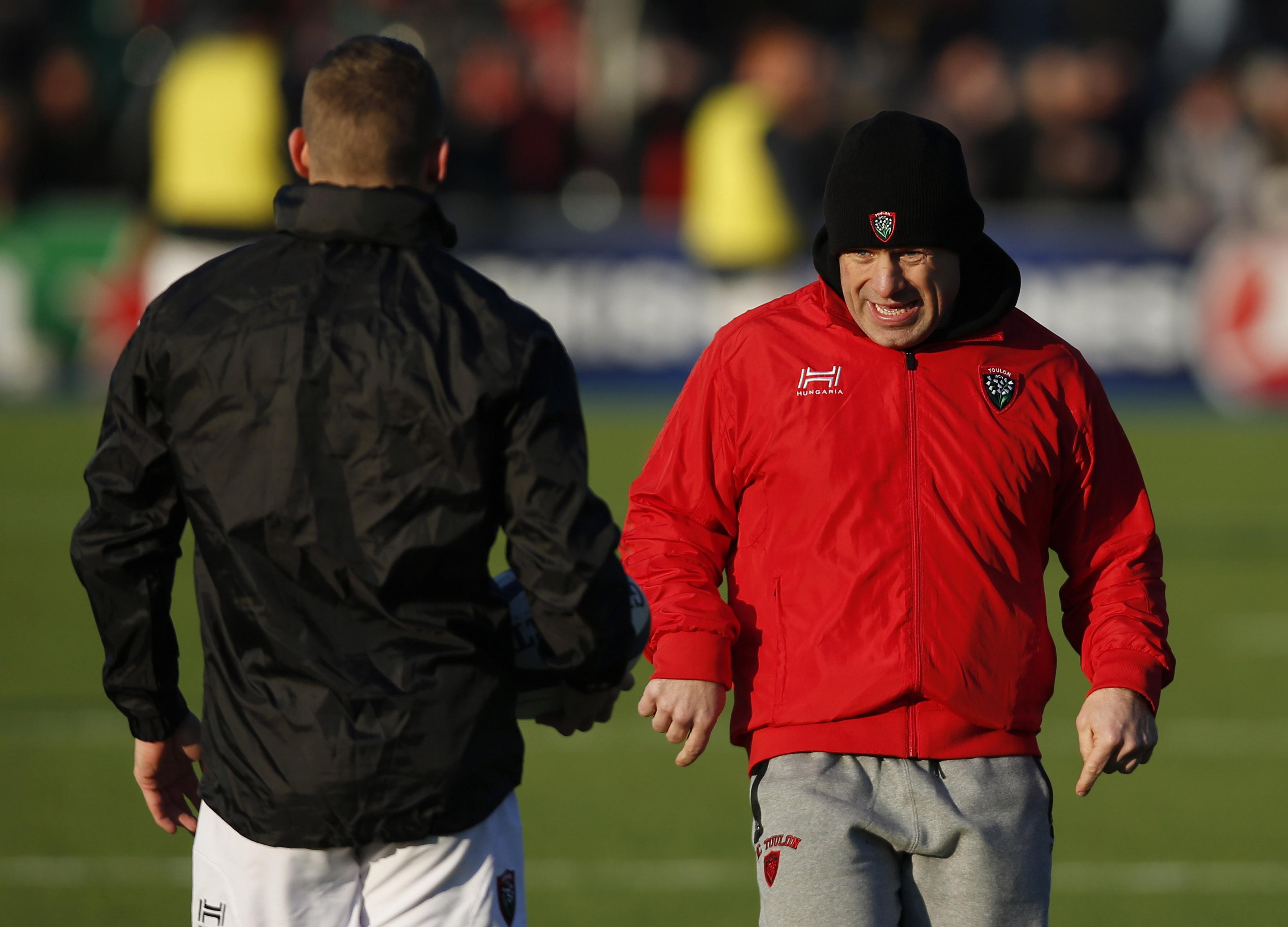 Rugby - Top 14 - Cockerill : «Si Toulon perd face à Bayonne, c'est la catastrophe...»
