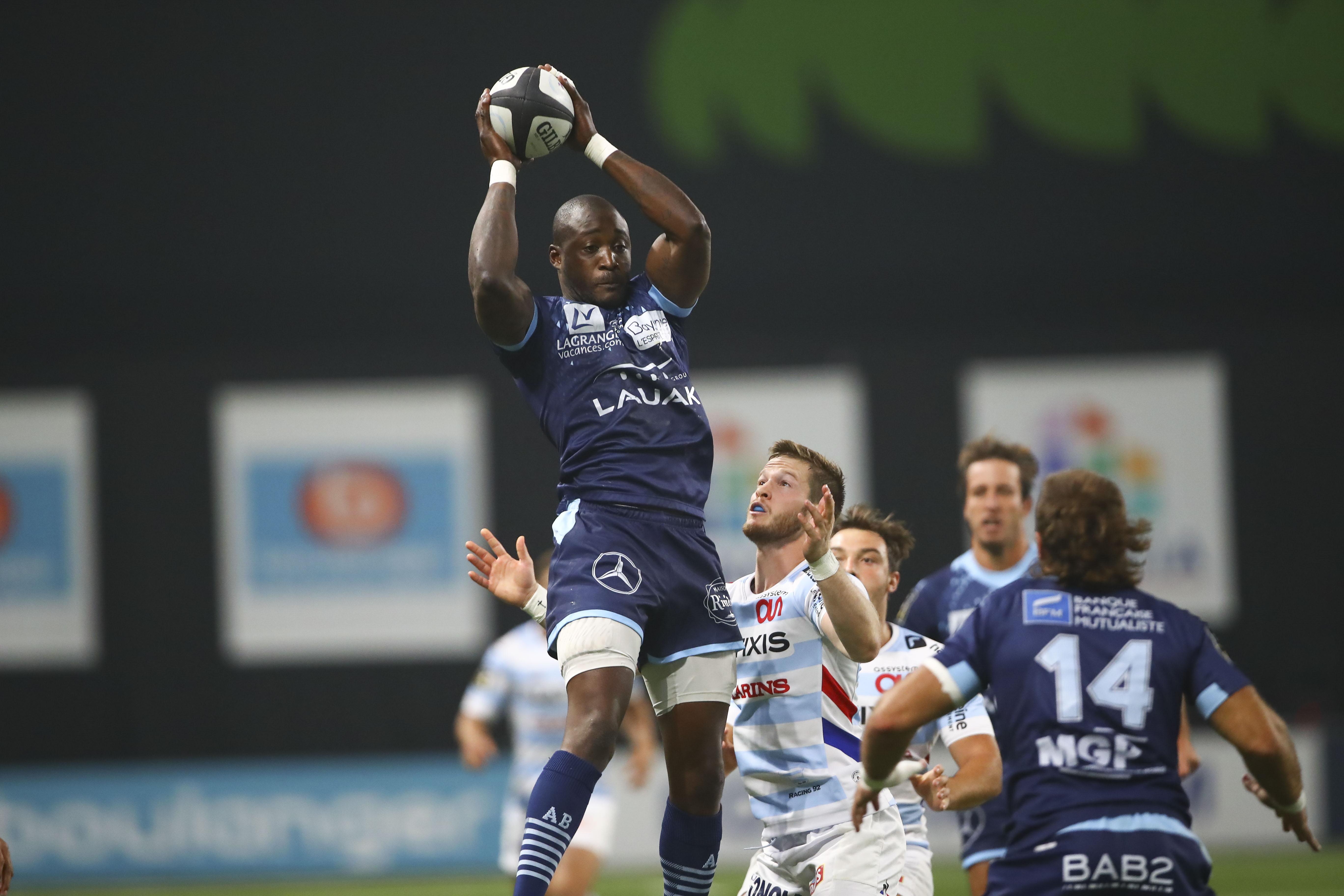 Rugby - Top 14 - Djibril Camara (Bayonne) : «Au vu de ce qui est annoncé, il faut arrêter les dégâts»