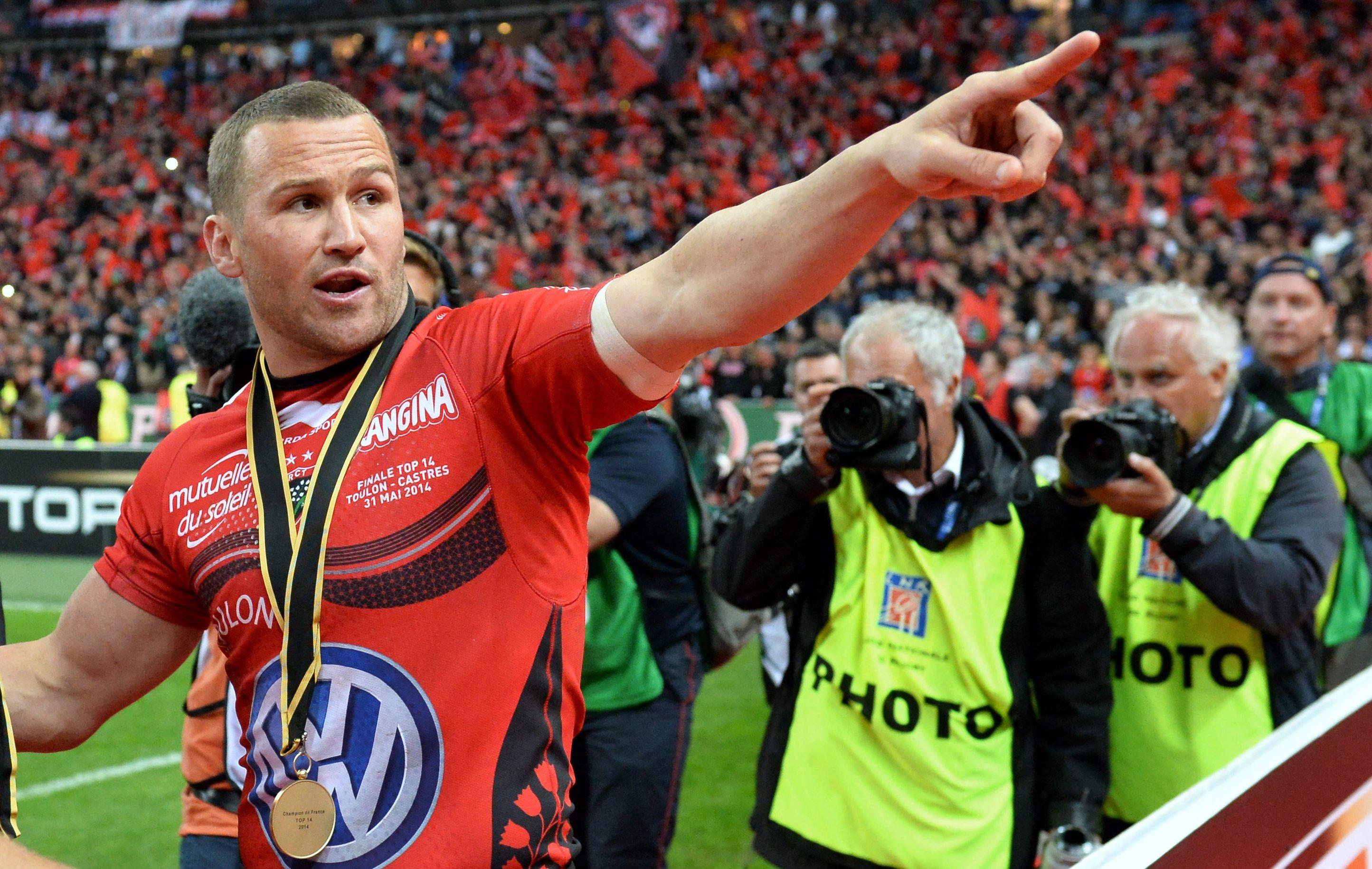 Rugby - Top 14 - Giteau fidèle à Toulon