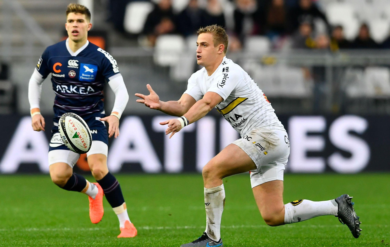 Rugby - Top 14 - A La Rochelle, Jules Plisson revoit enfin la vie en rose