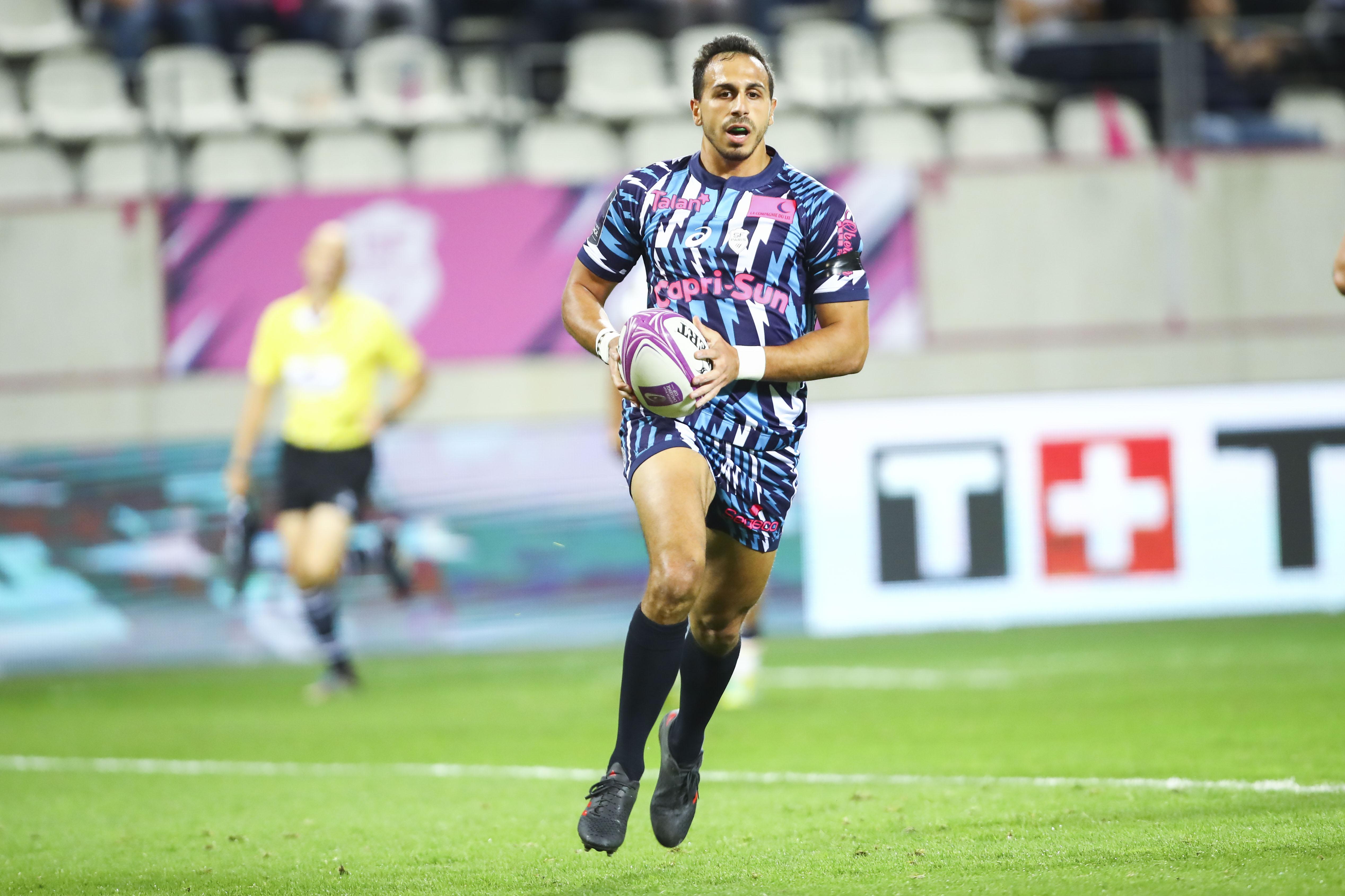 Rugby - Top 14 - Kylan Hamdaoui : «On a de la pression mais on va tout lâcher»
