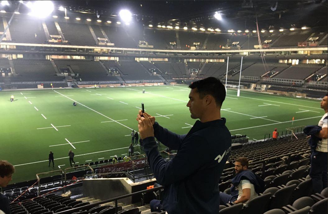 La u arena officiellement inaugur e top 14 rugby for Interieur u arena