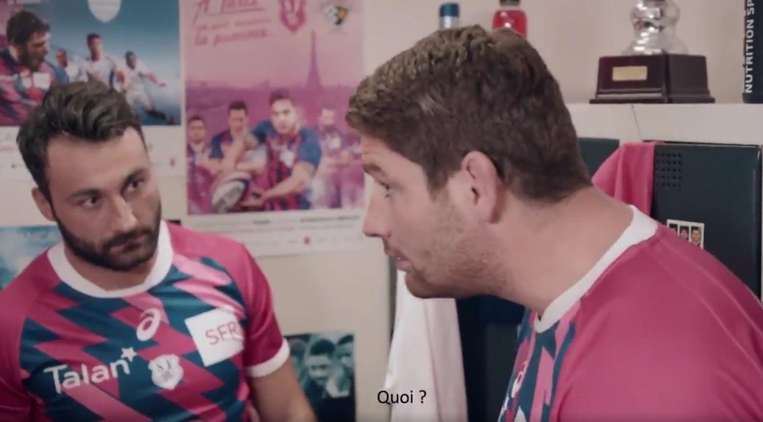 Rugby - Top 14 - Le numéro d'acteur de Pascal Papé dans une publicité