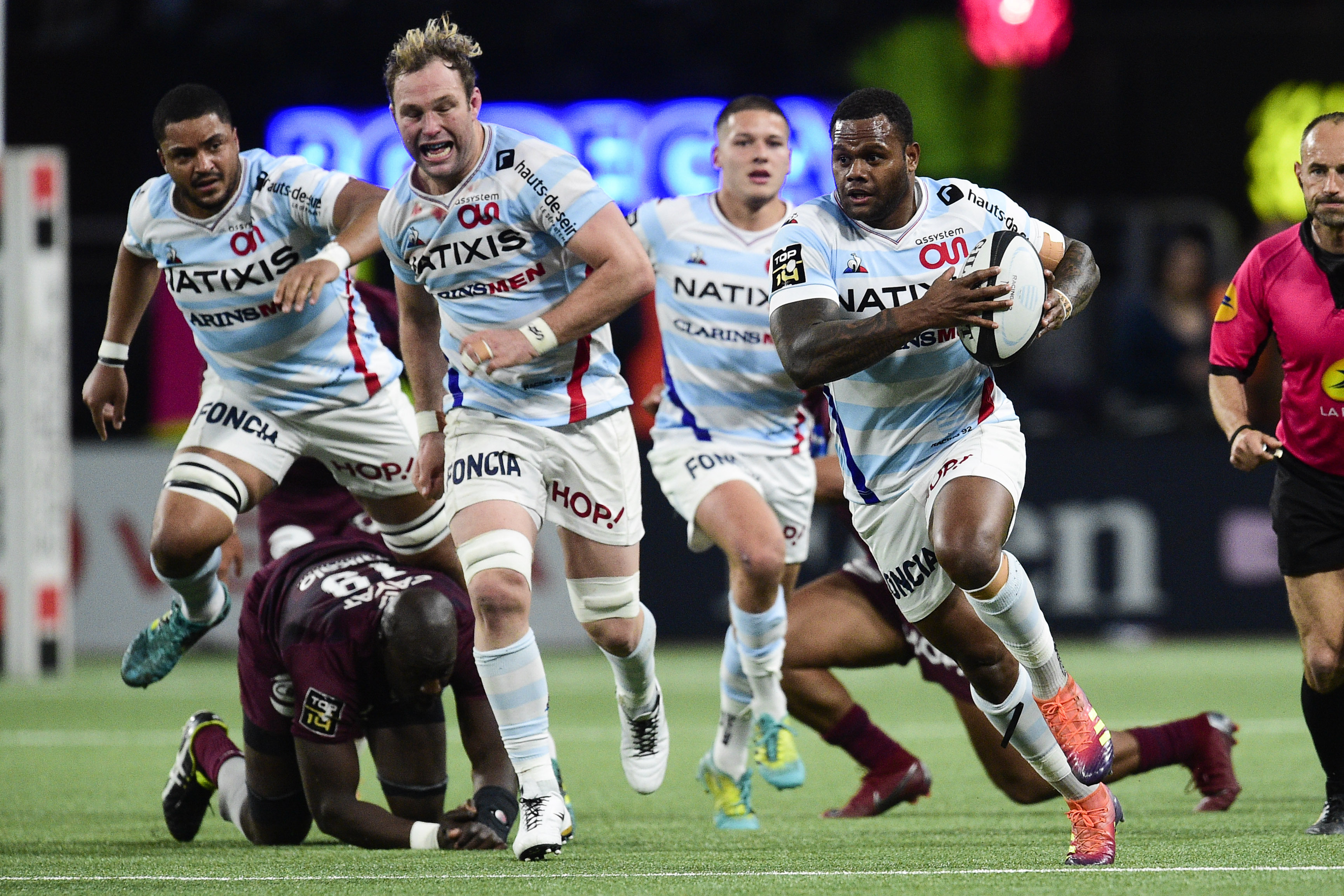 Rugby - Top 14 - Le Racing 92 confronté à une cascade d'imprévus