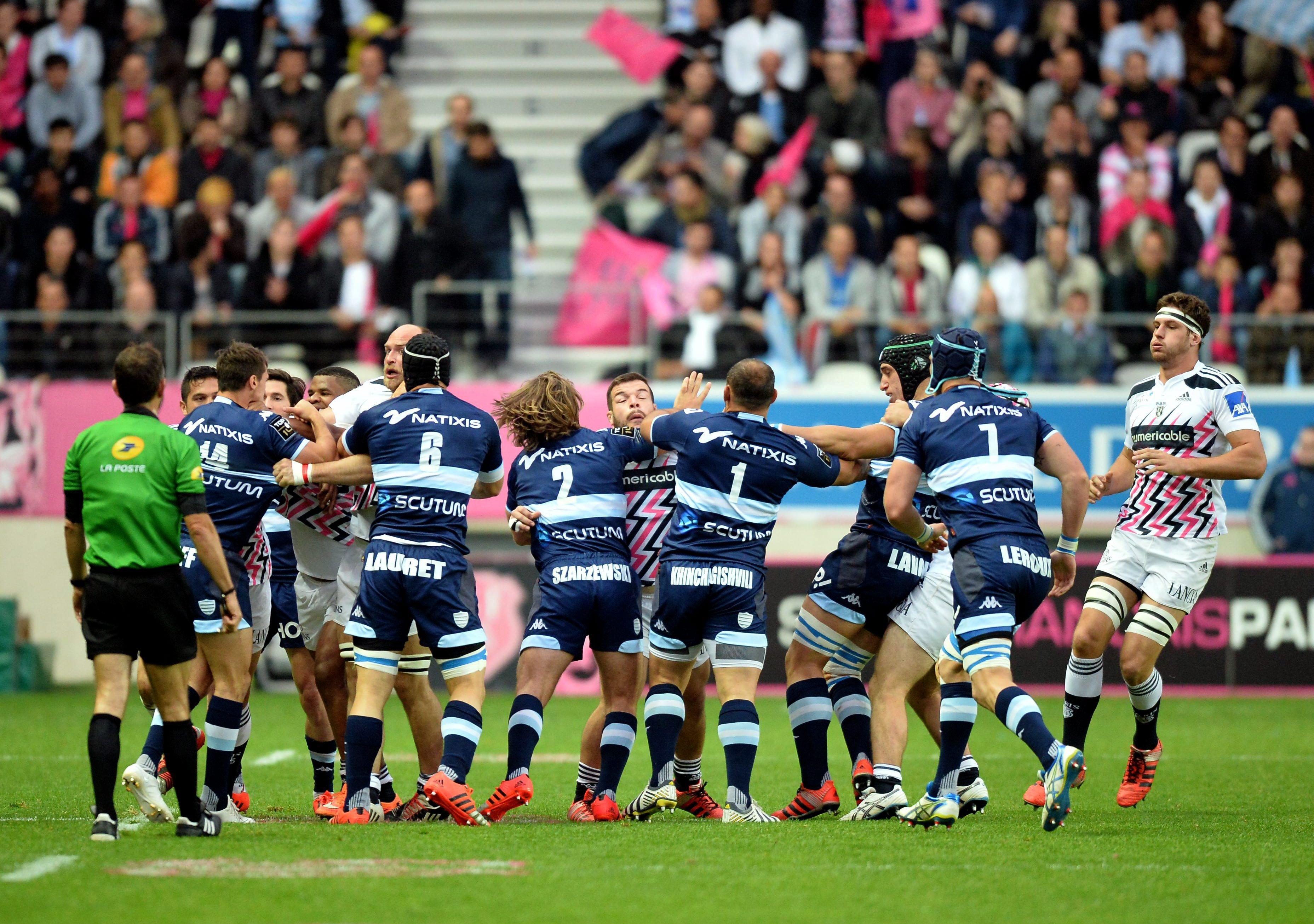 Rugby - Top 14 - Le Racing a des revanches à prendre sur le Stade Français