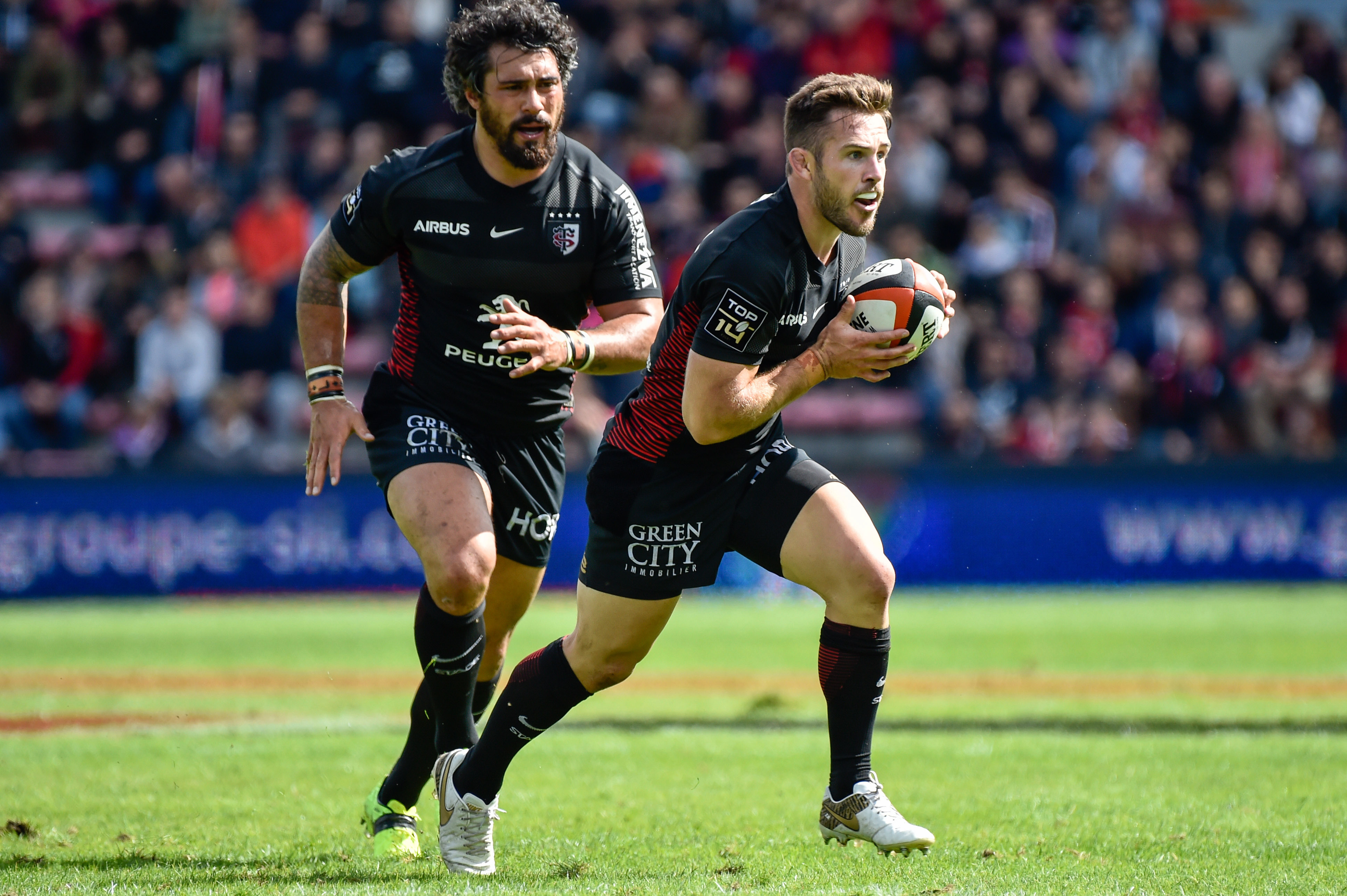 Rugby - Top 14 - Le Stade toulousain, voyages avides