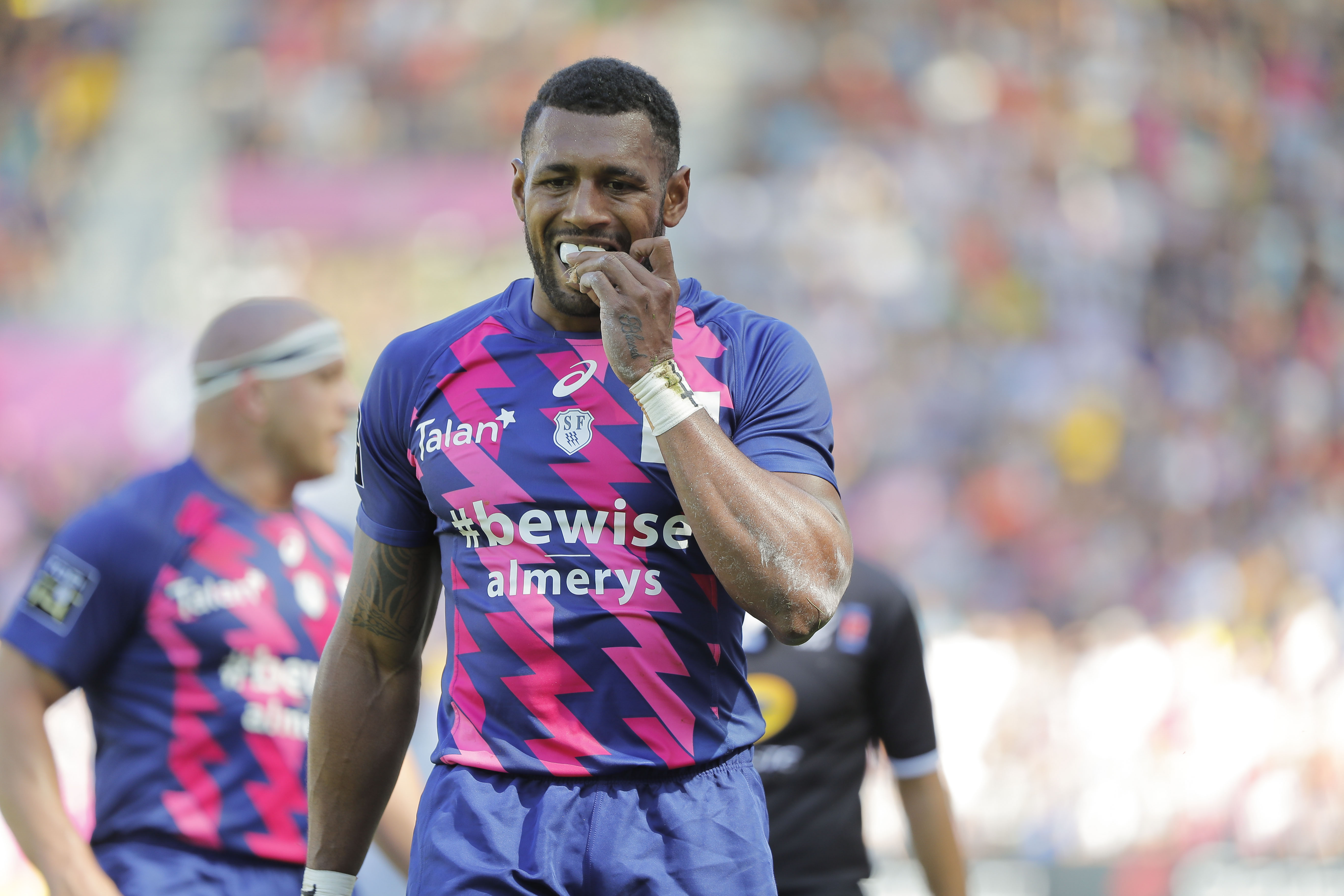 Rugby - Top 14 - Les deux joueurs du Stade Français présentés au parquet de Paris