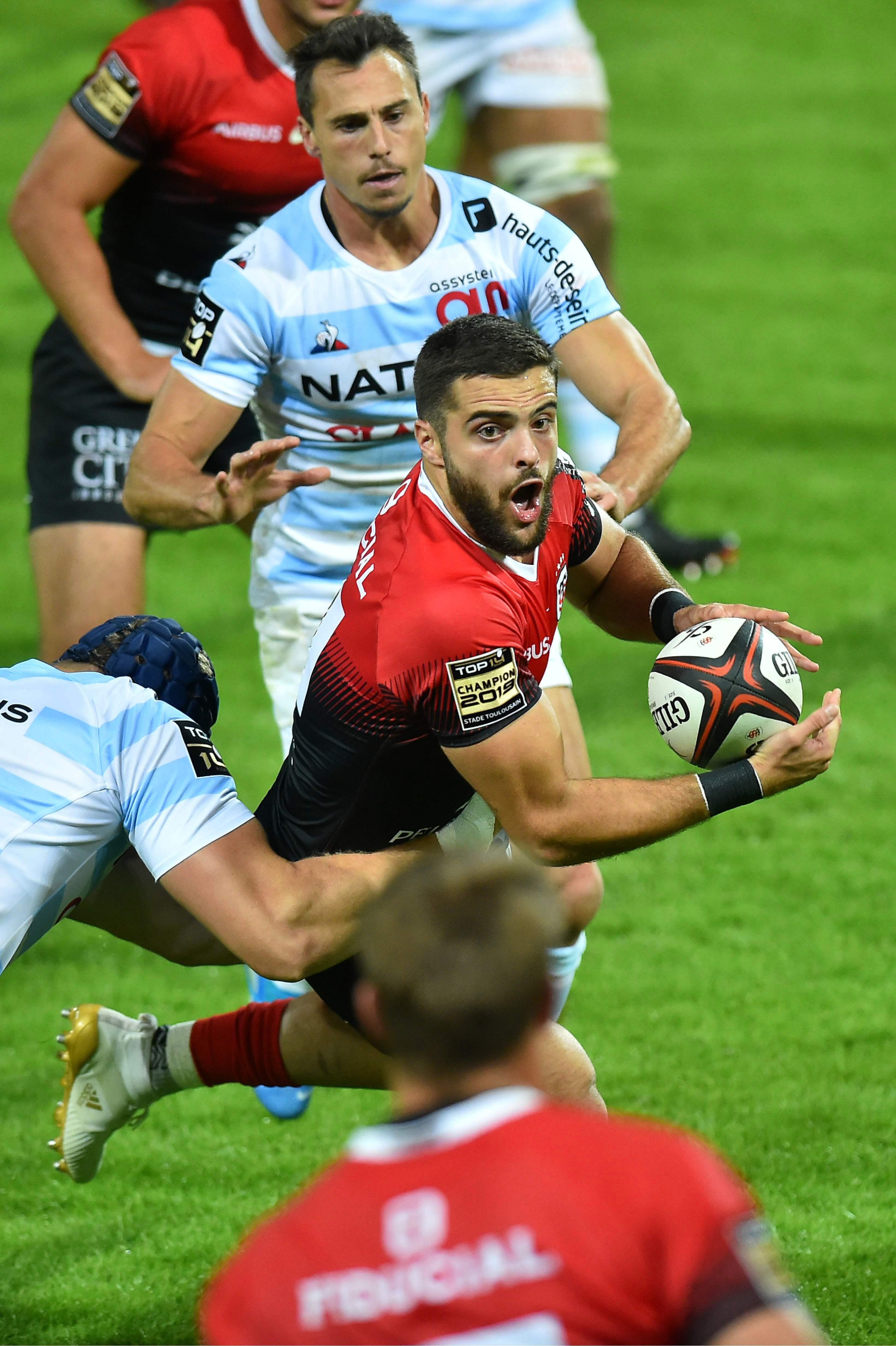 Rugby - Top 14 - Lucas Tauzin : «Il y a quand même du mieux à Toulouse»