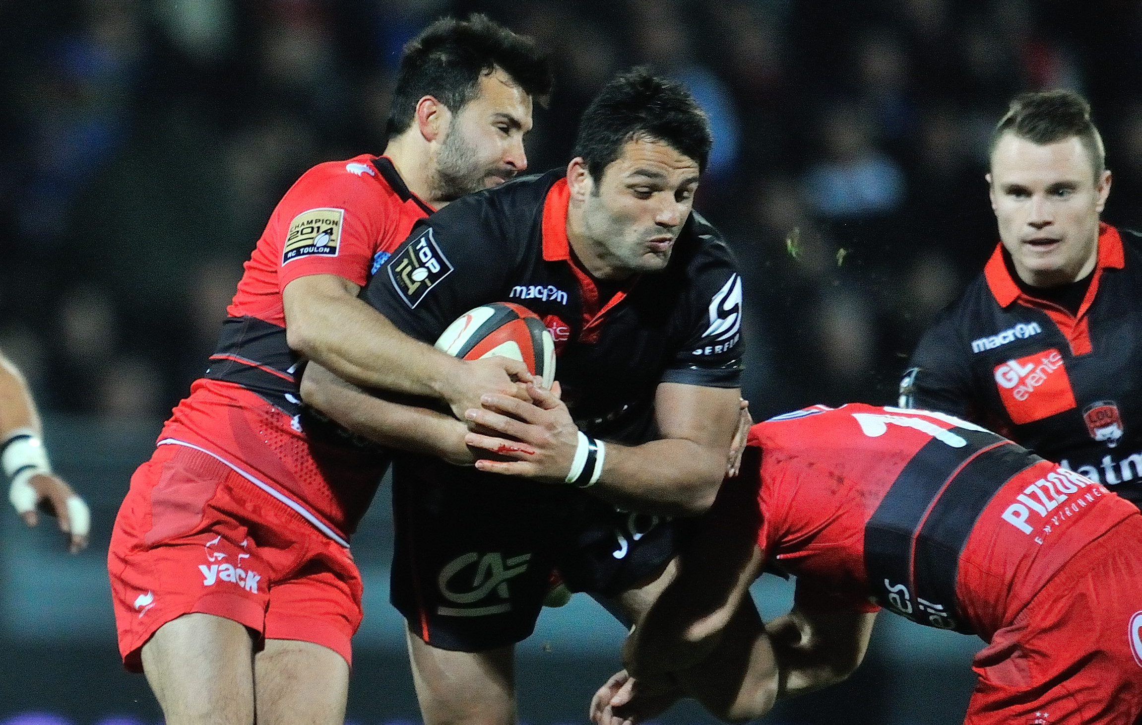 Rugby - Top 14 - Lyon, l'ambitieux promu n'y arrive pas