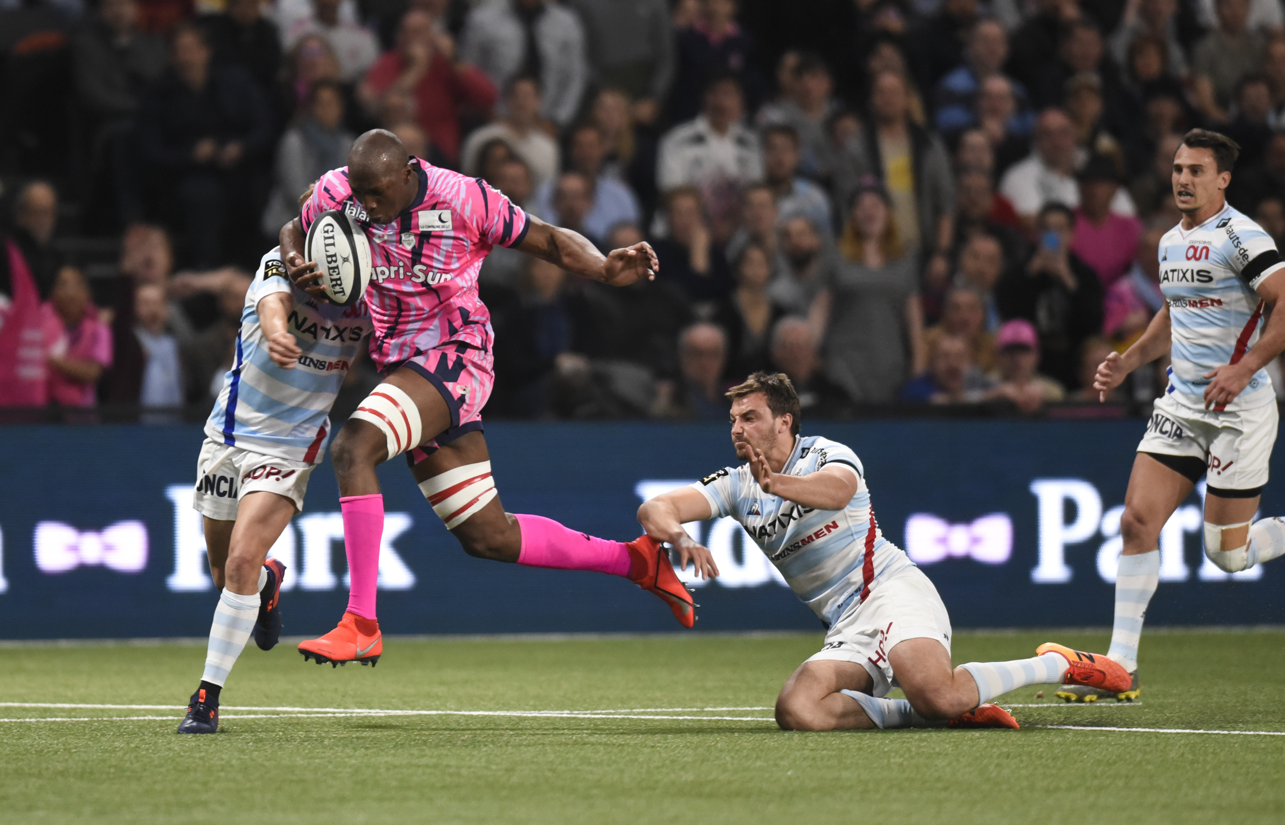Rugby - Top 14 - Macalou : «Le Stade Français avait plus envie que le Racing»